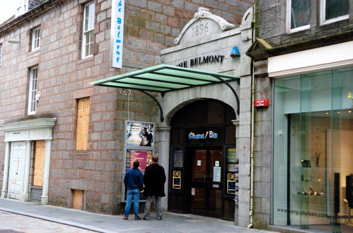The exhibition is being held at the Belmont Filmhouse.