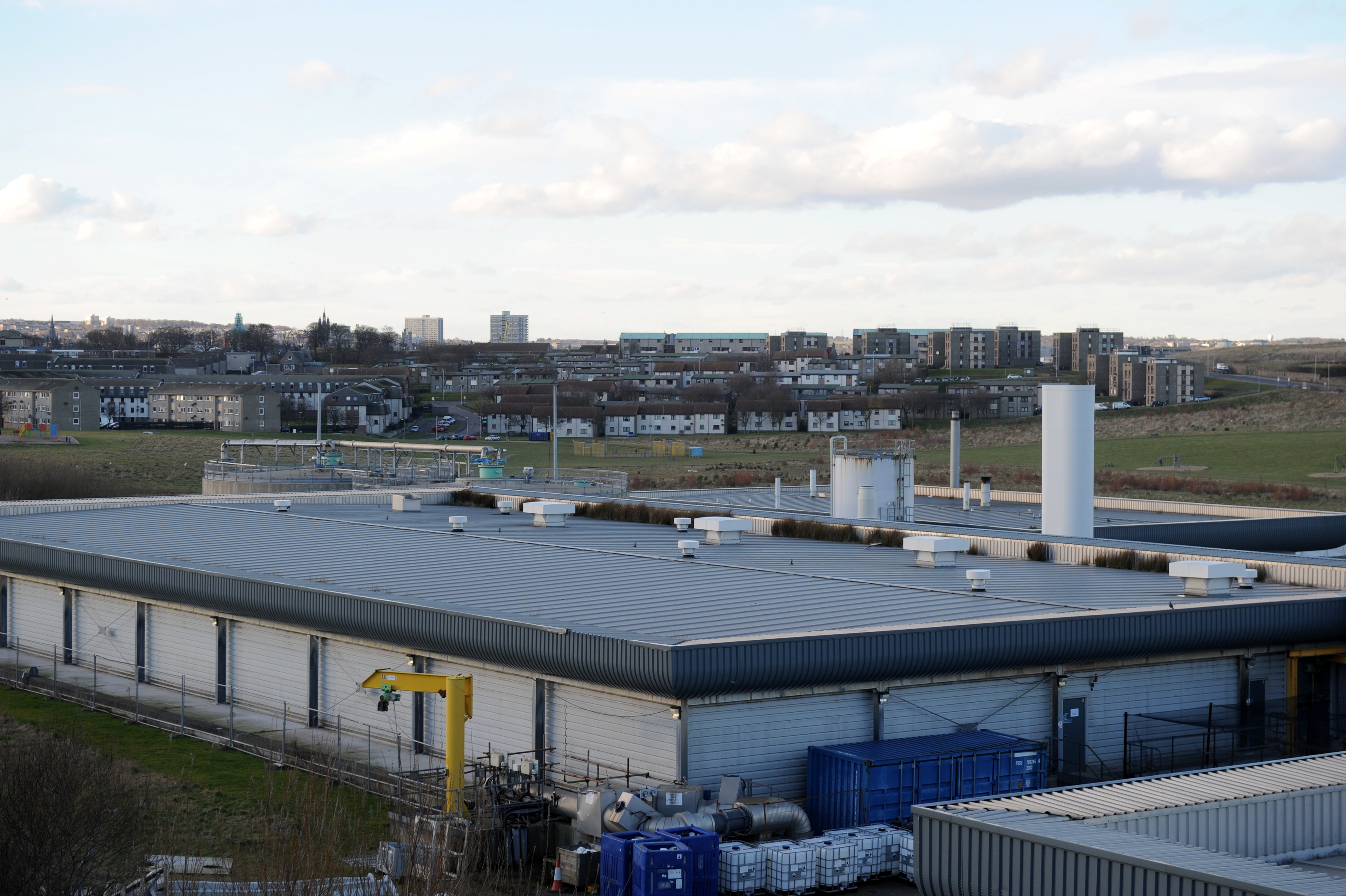 The Nigg Waste Water Treatment Works could be a source of an unpleasant smell in Torry.