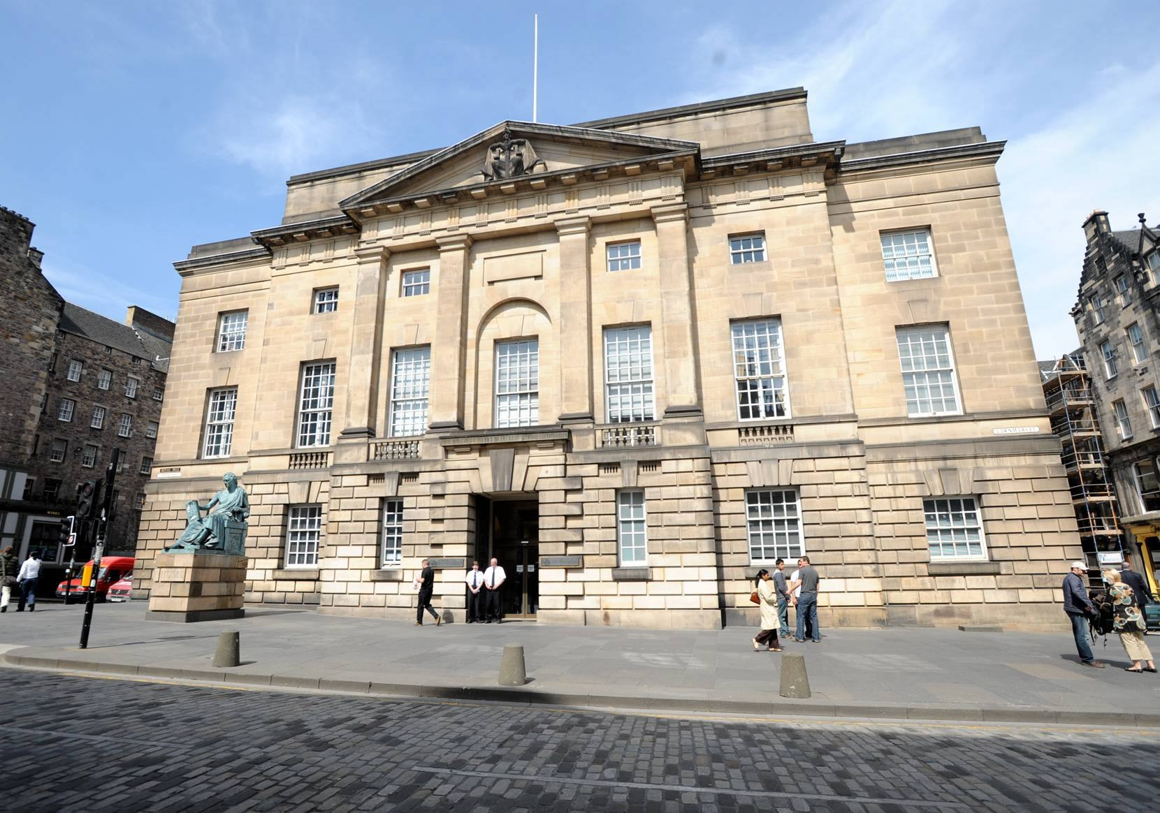 The case was heard at the High Court in Edinburgh