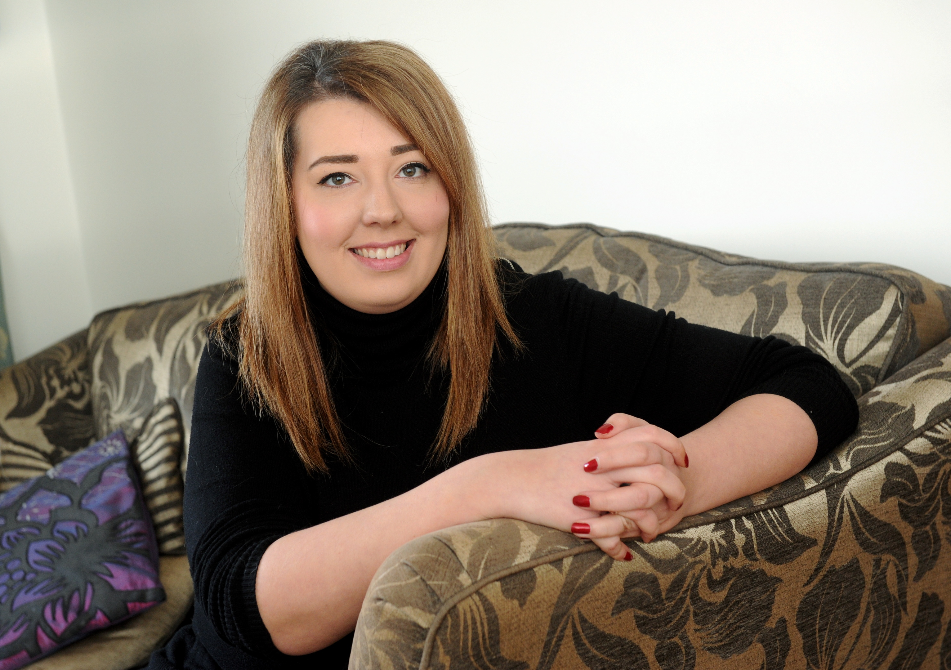 Nadia Cruickshank is determined to live life to the fullest despite her tumour diagnosis.