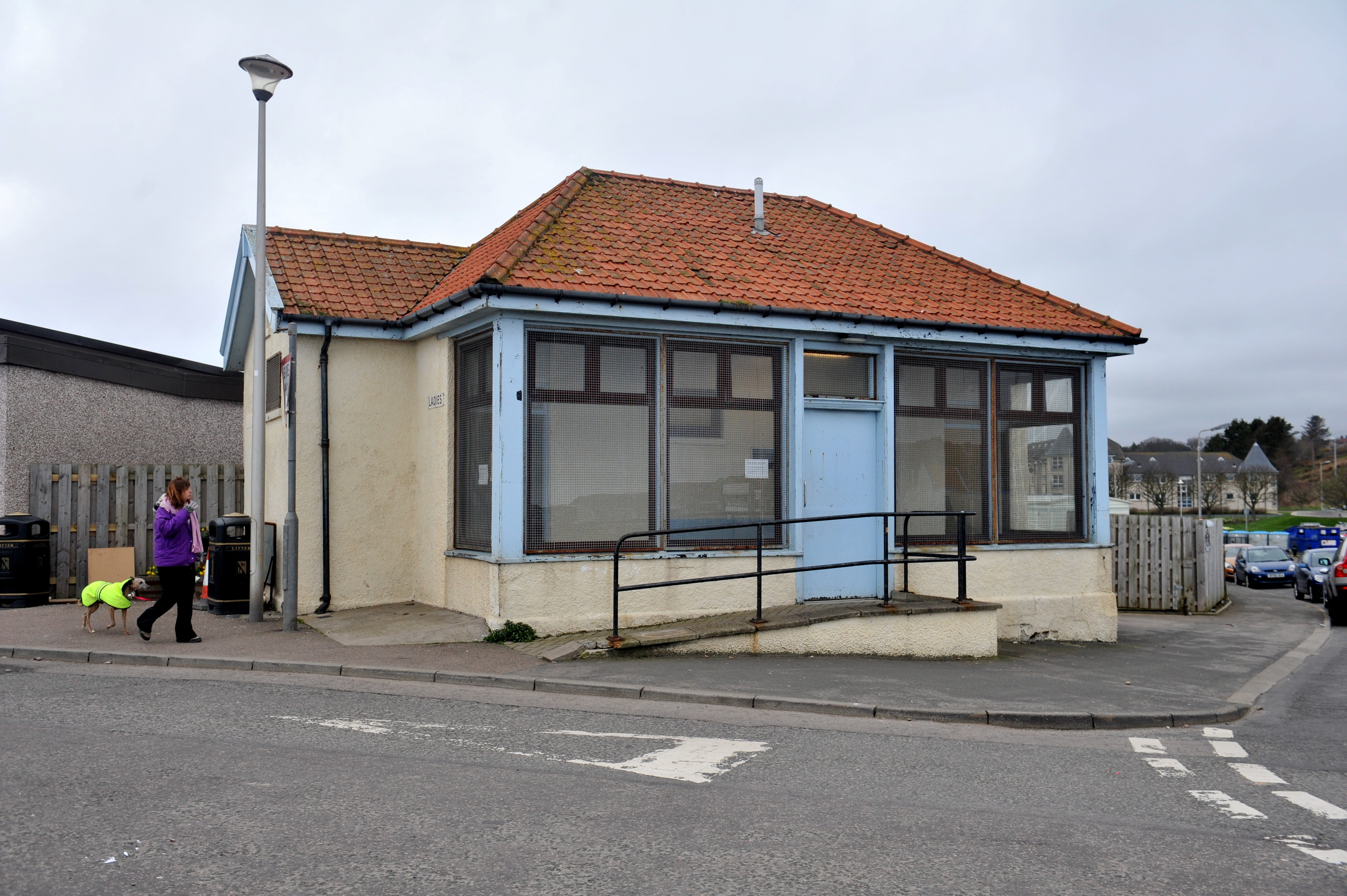 The public toilet in Stonehaven will be closed as part of the plan.