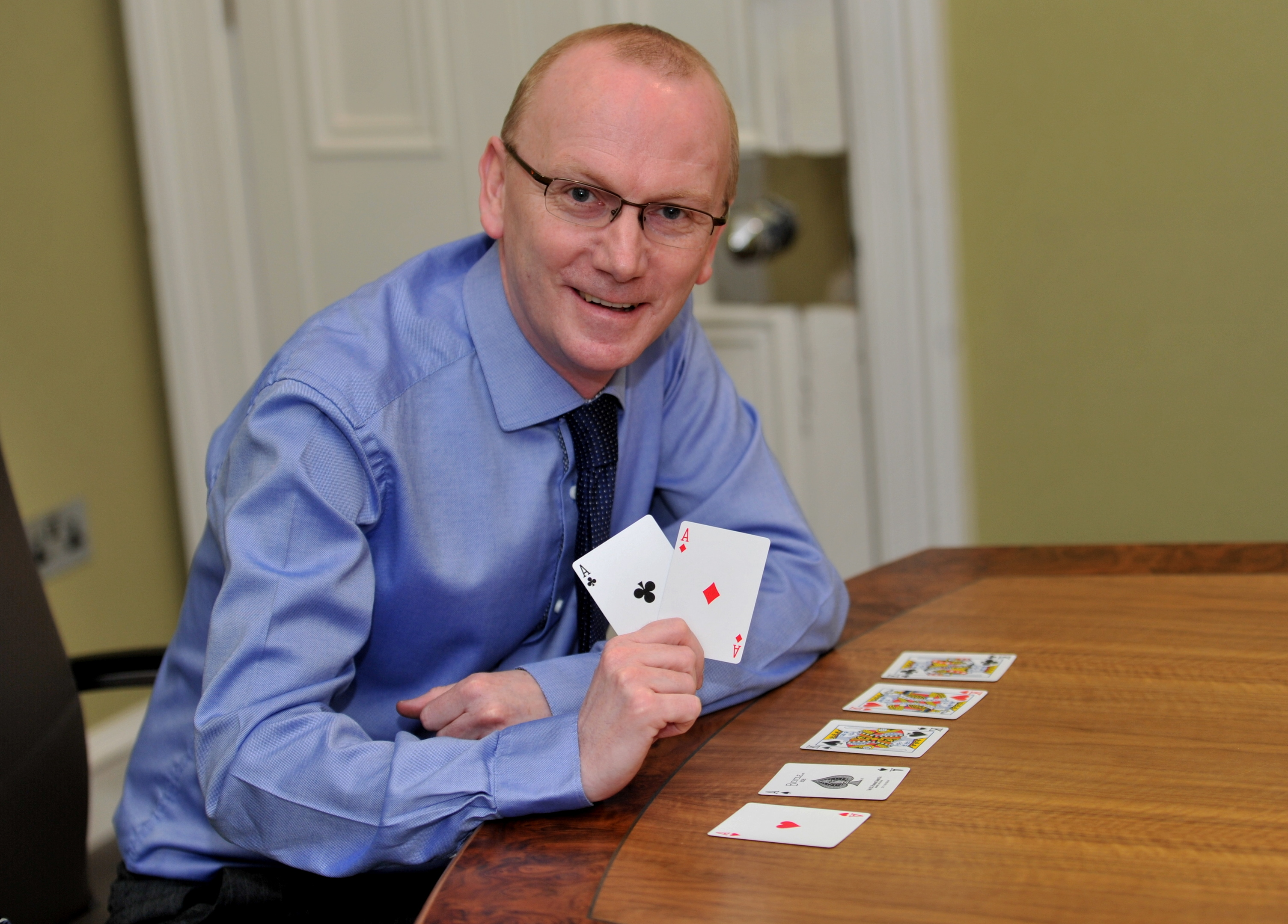 Gerry Forbes will head to Las Vegas next month for a poker tournament.