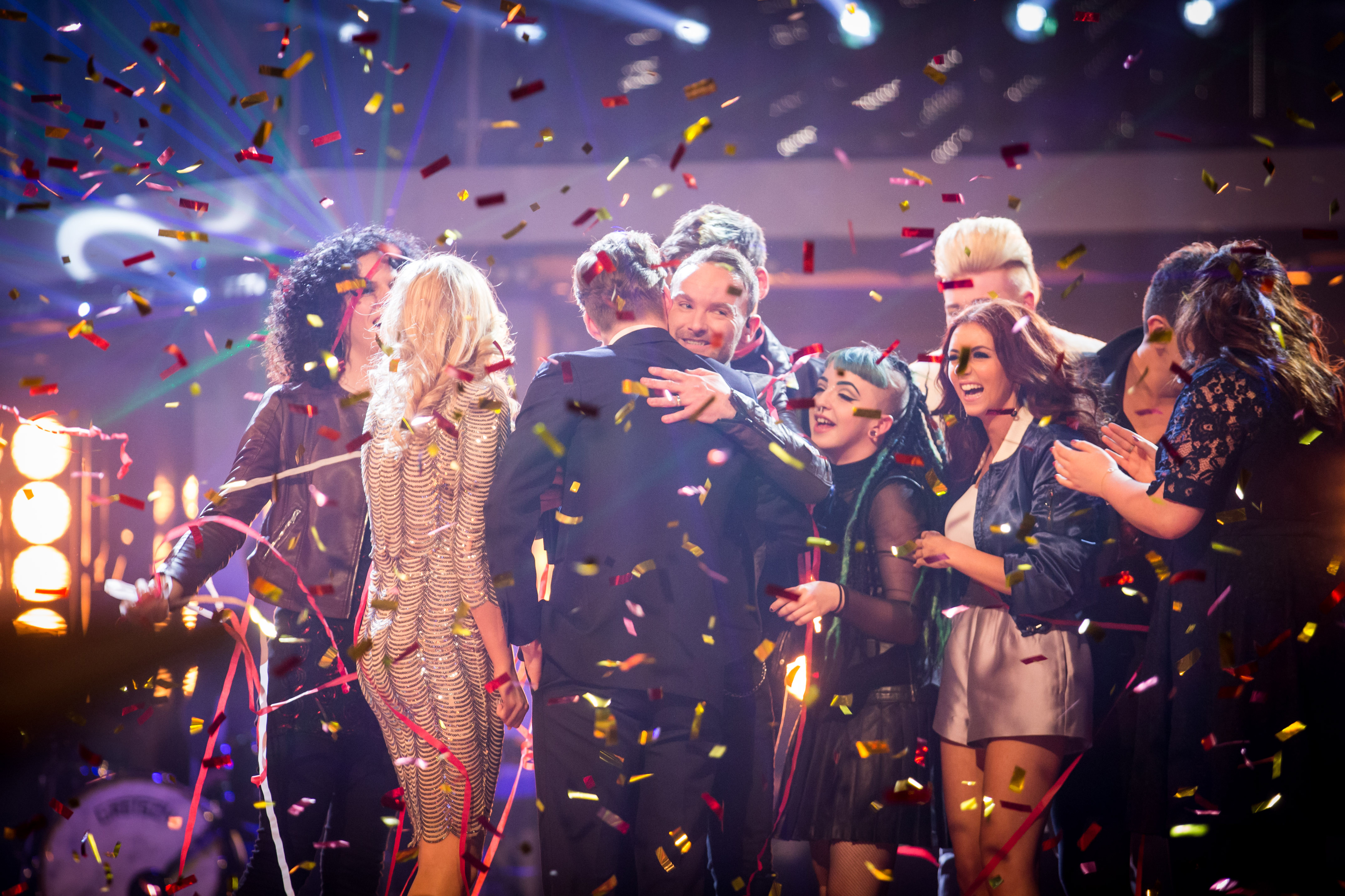 Kevin Simm won the final series of The Voice on BBC One on Saturday.
