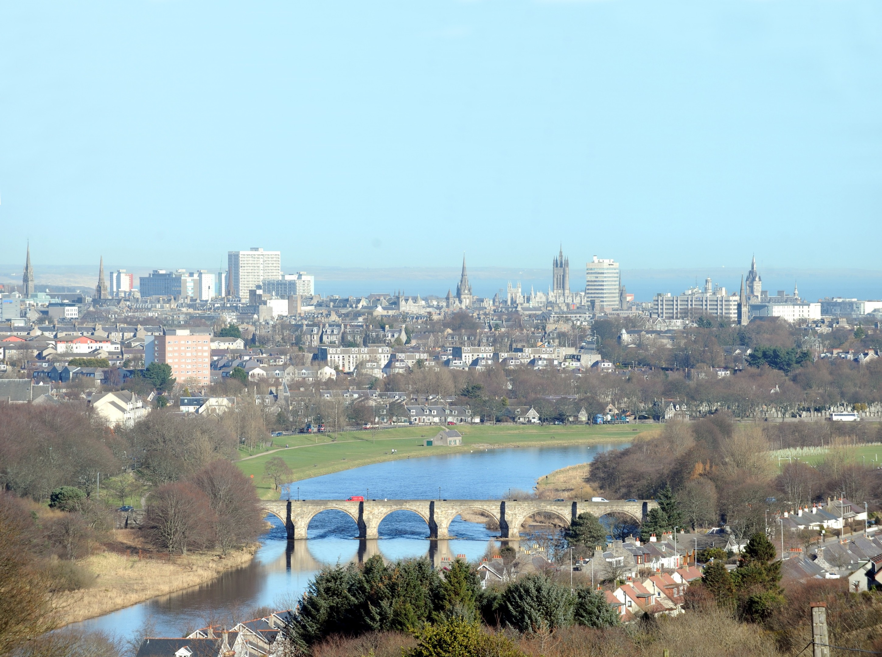 The Bridge of Dee could change under plans.