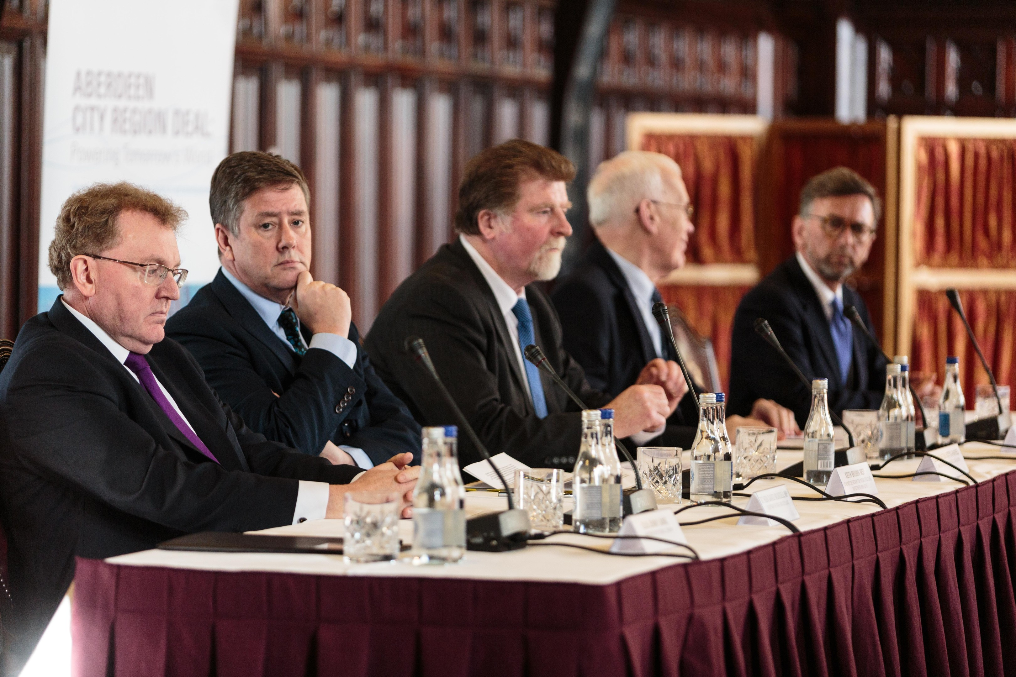 A meeting of regional and national representatives of the City Region Deal.
