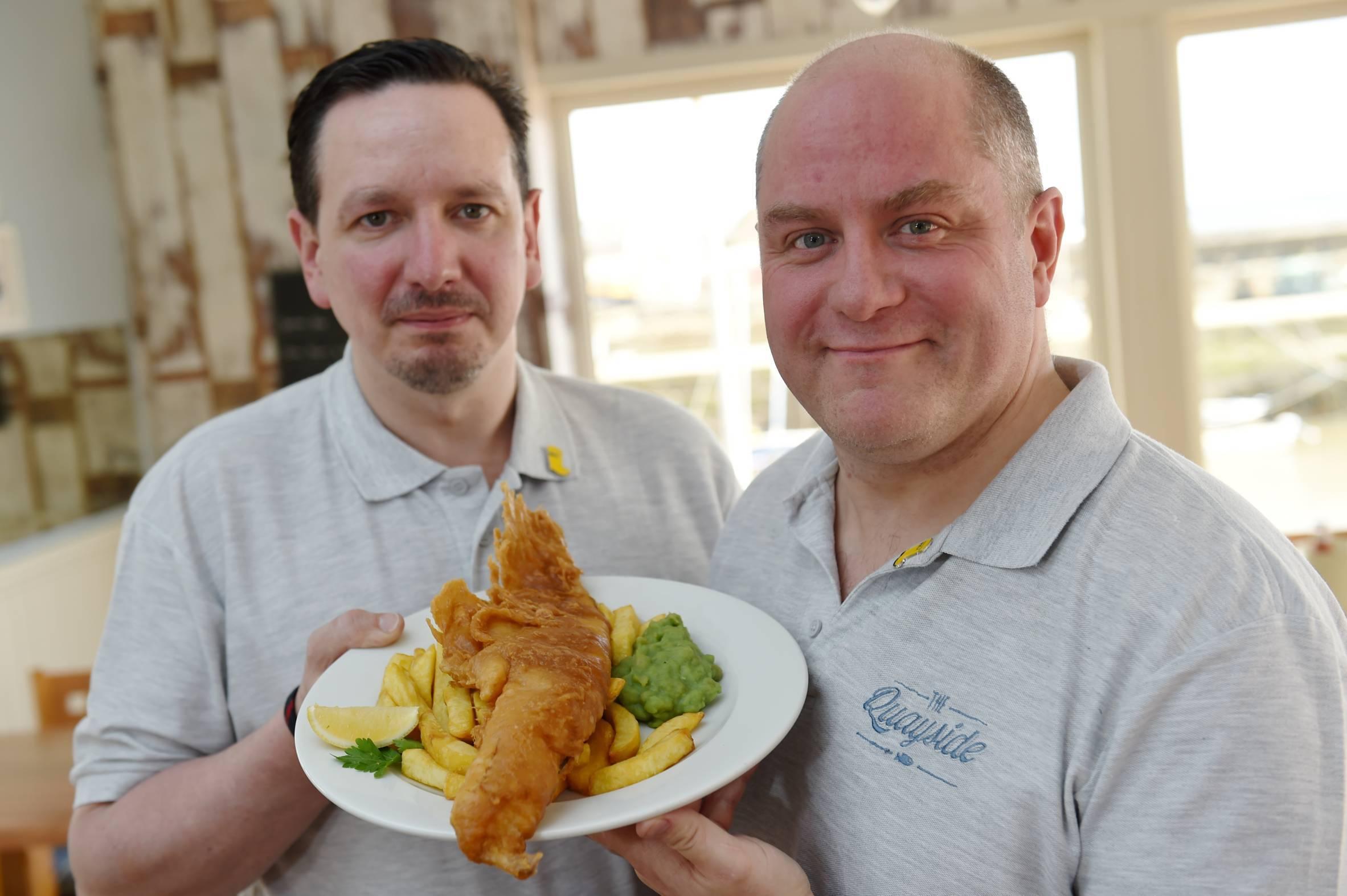 New owners Noel Brown and Ewen Lovie.