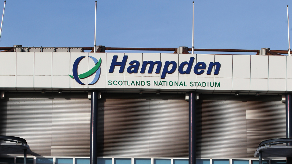 The final will take place at Hampden