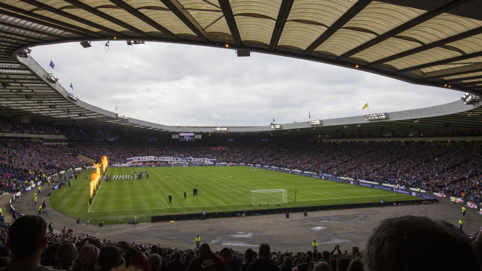 The Dons will face Morton at Hampden Park on Saturday, October 22.