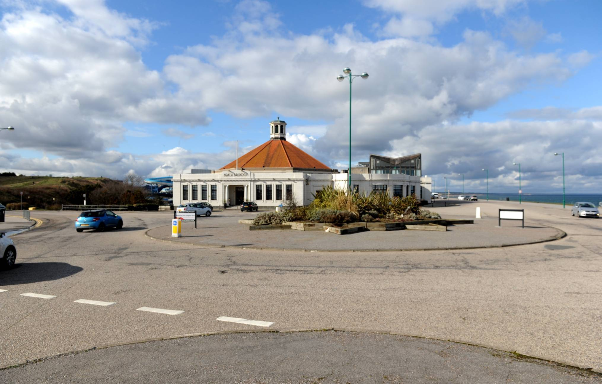 The plans could see the Esplanade roundabout at the Beach Ballroom removed.