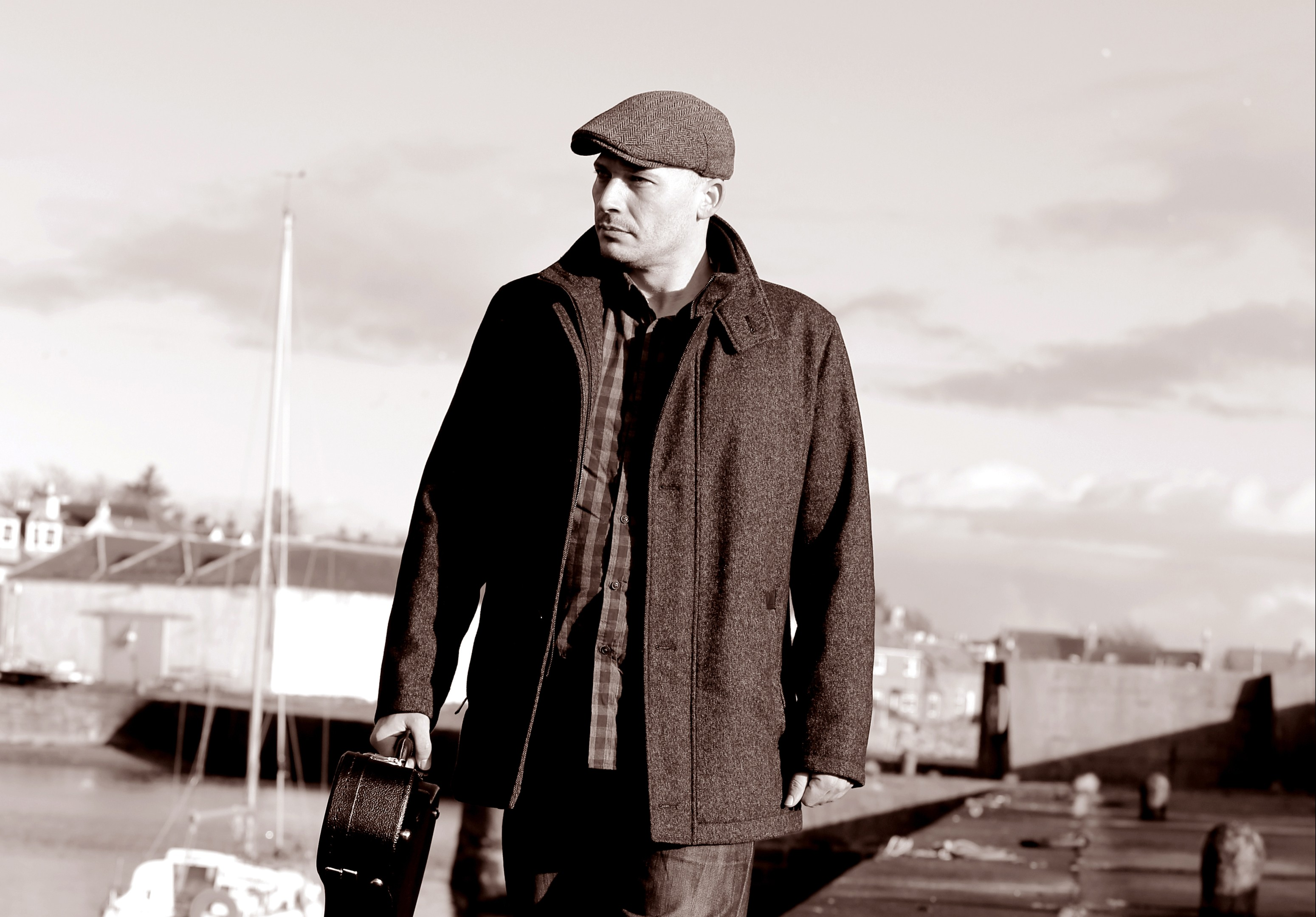 North-east musician Pete Coutts