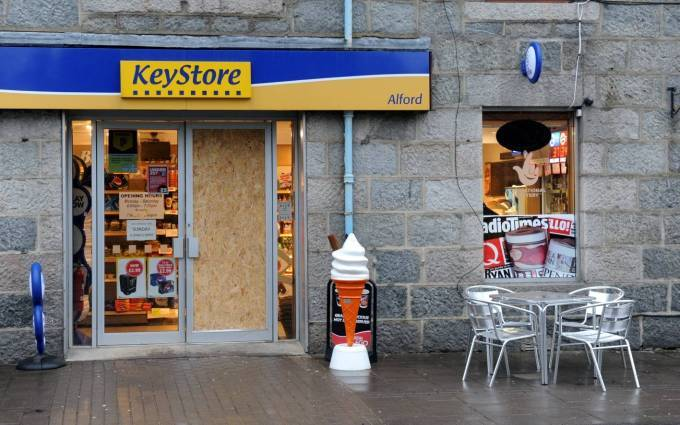 The Keystore in Alford.