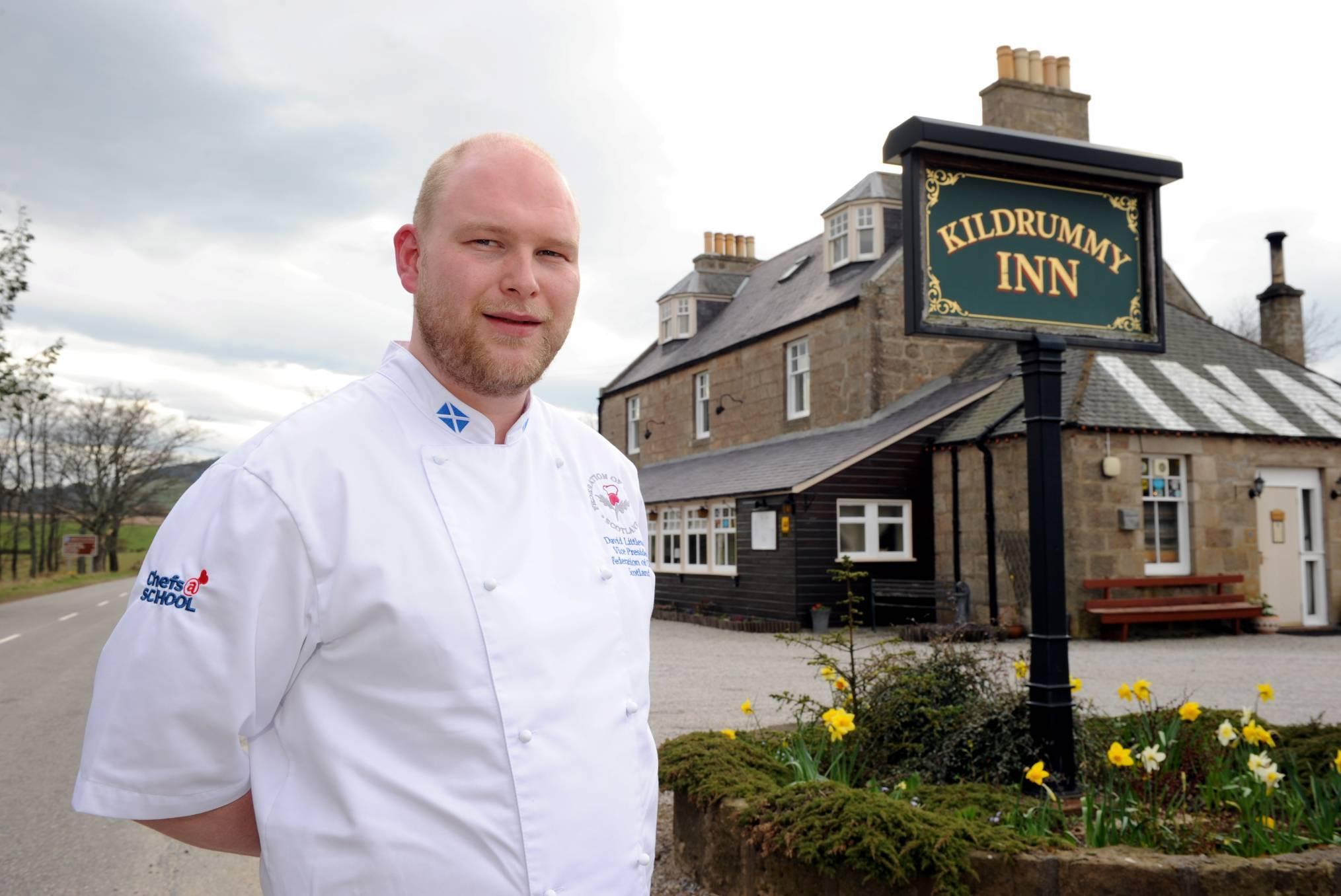 David Littlewood at the Kildrummy Inn