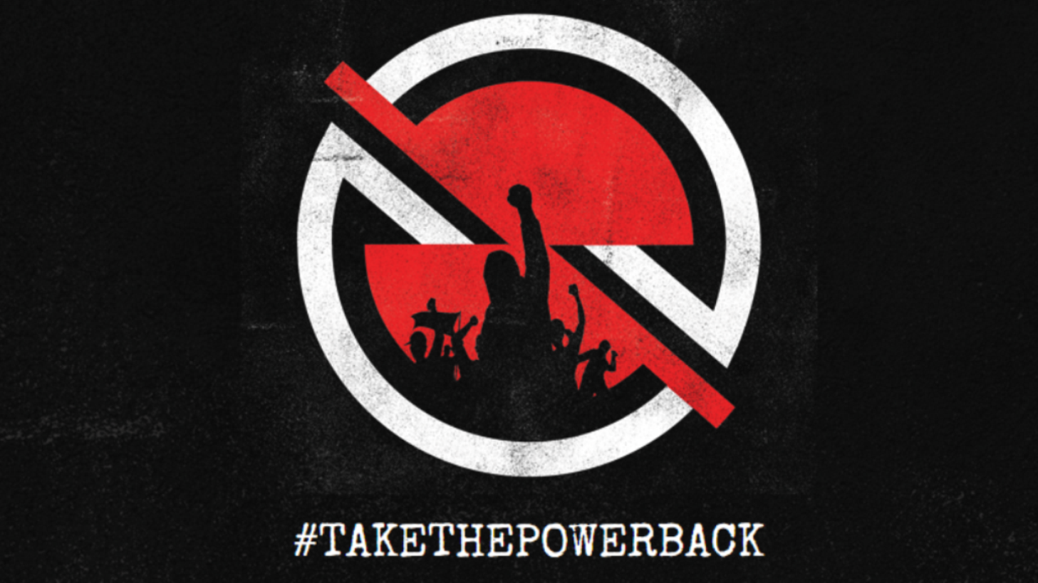 The logo featured on the Rage Against The Machine website (ProphetsOfRage.com)