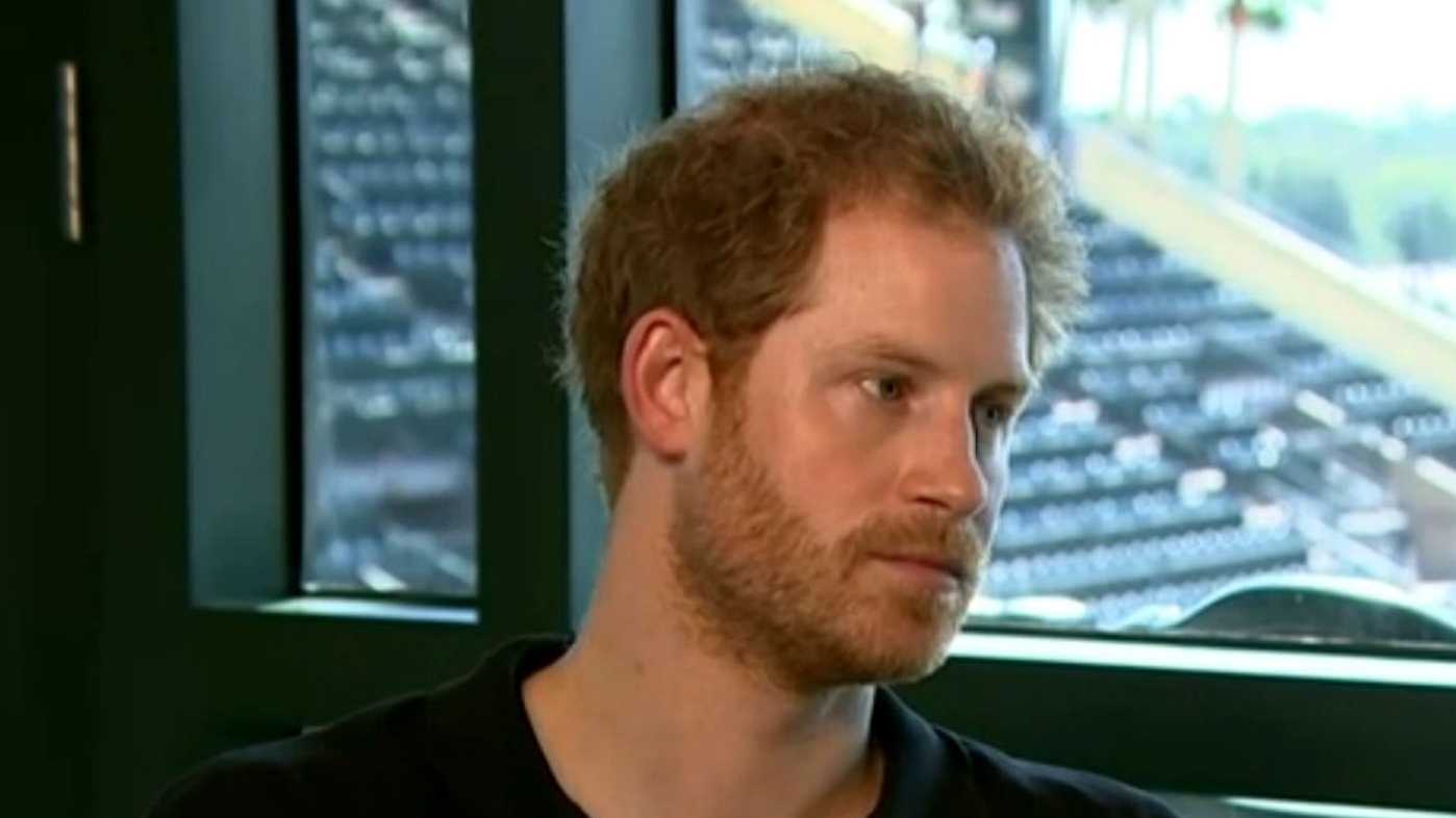 Prince Harry talked about his mother on Good Morning Britain (ITV/screenshot)