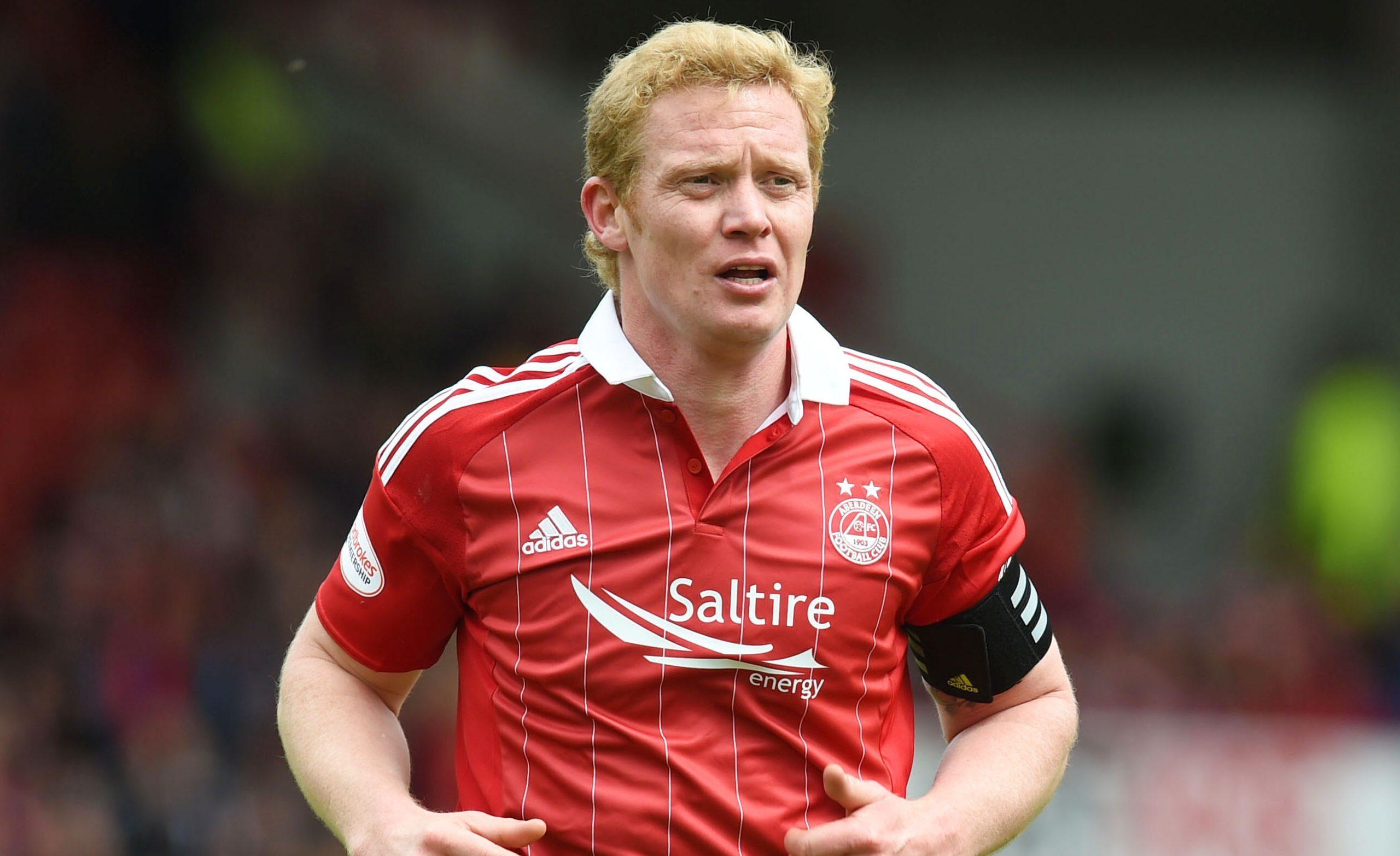 Aberdeen captain Barry Robson.