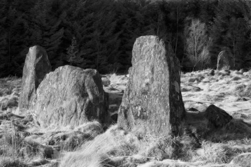 Clune hill Stone Circle. Picture by Jason Friend