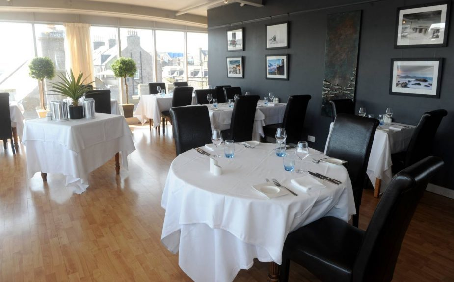 The Silver Darling restaurant on Aberdeen harbour is celebrating it's 30th anniversary