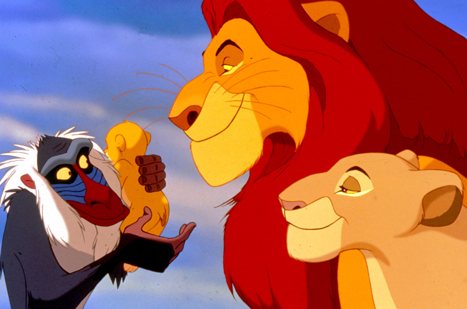 What's next? Will The Lion King's Mufasa survive the deadly stampede  –  the movie's most difficult scene.