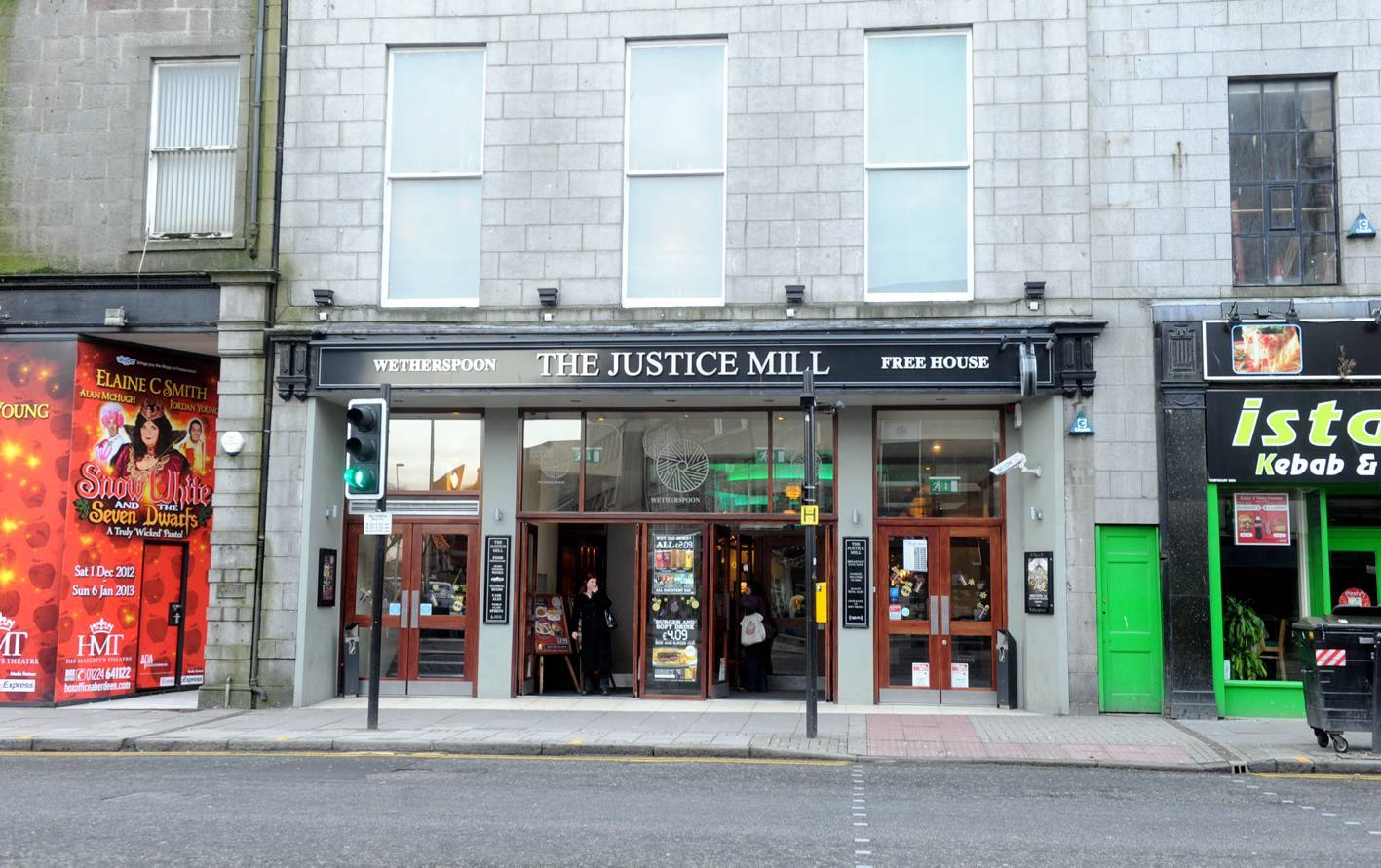 Justice Mill Inn, Union Street Aberdeen.
