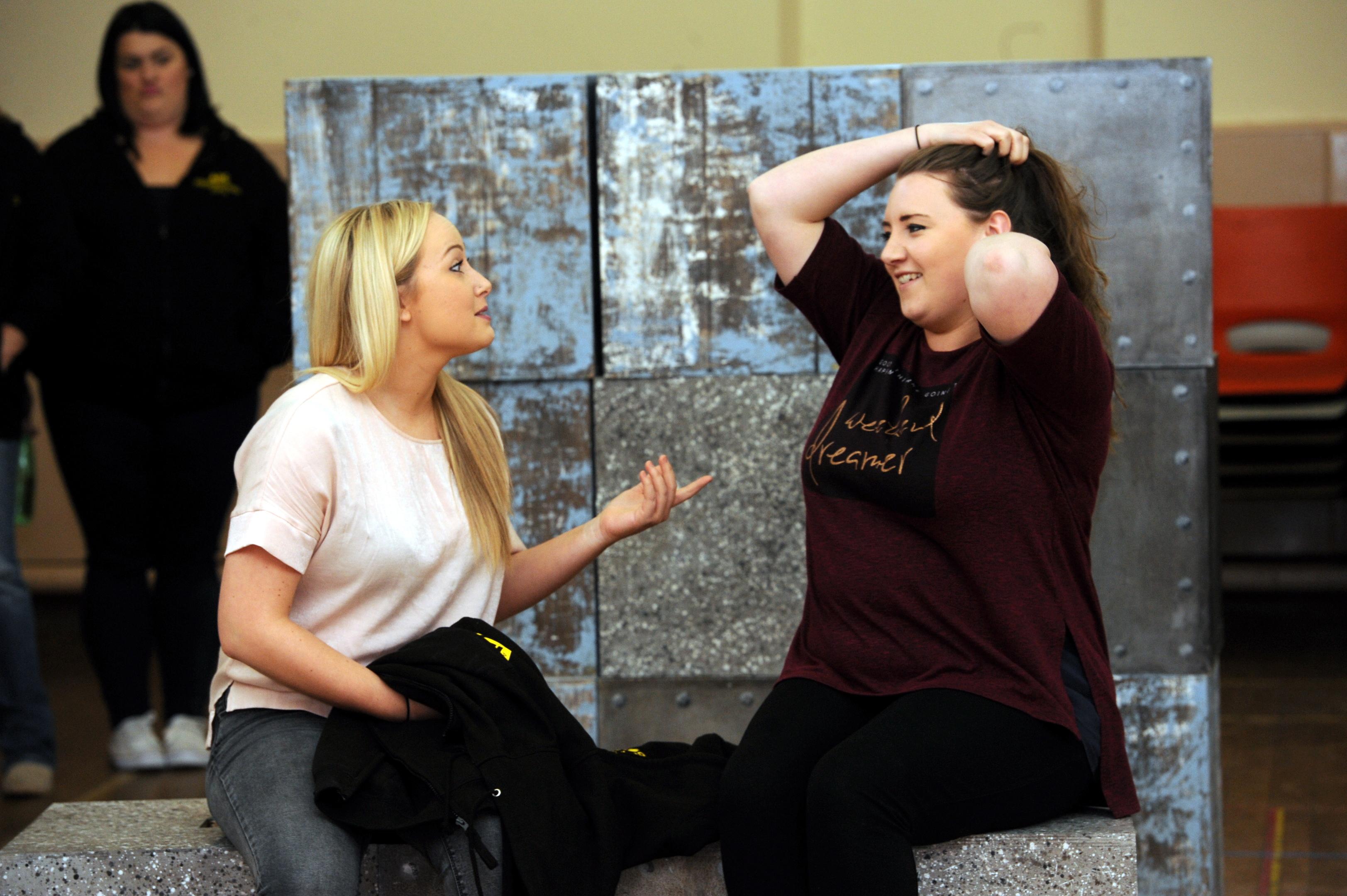 Hannah McKenzie  and Sarah Dawson