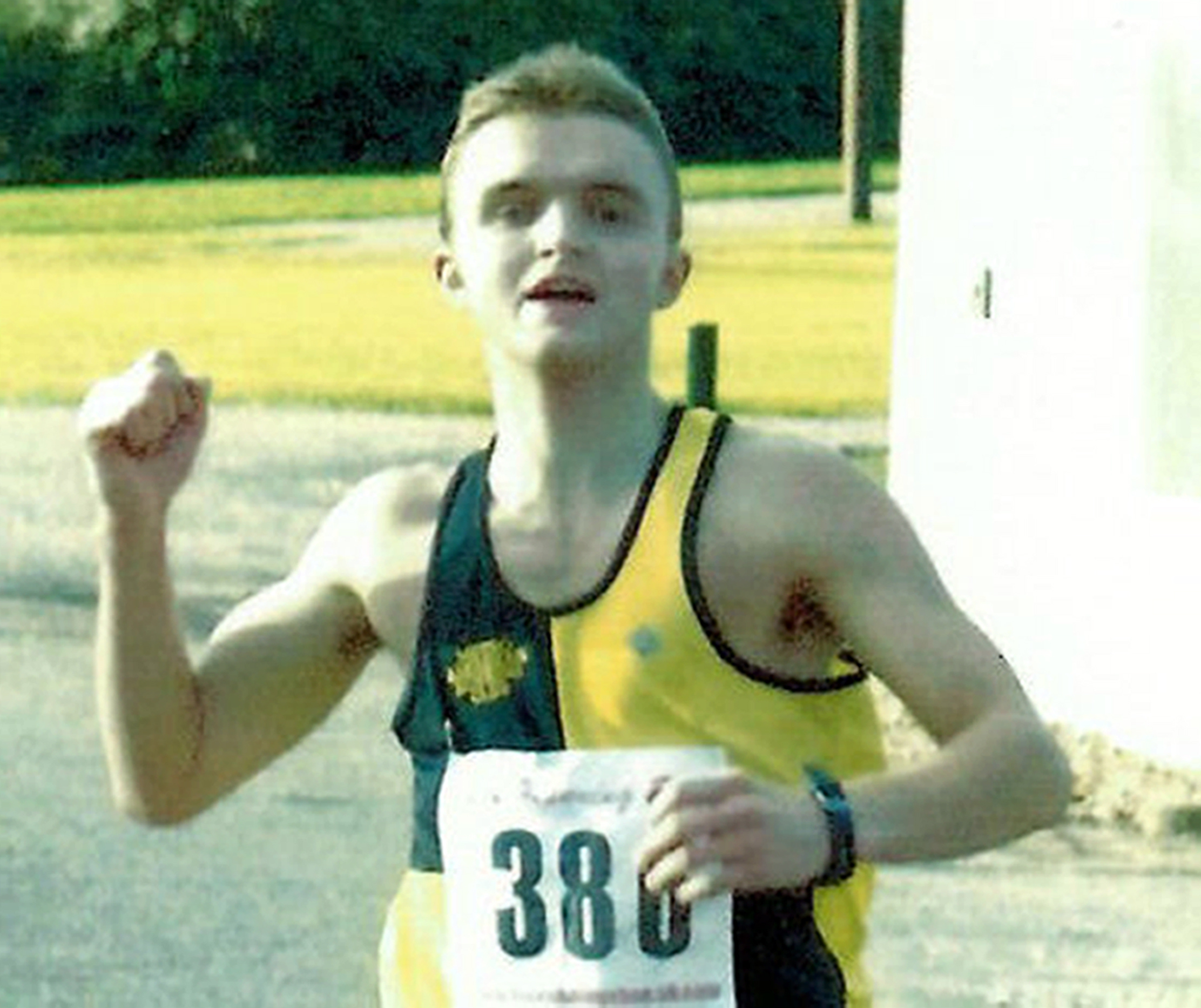 Neil Jaffrey, who  was a well-known figure in the running scene around the North-east, died from a head injury.