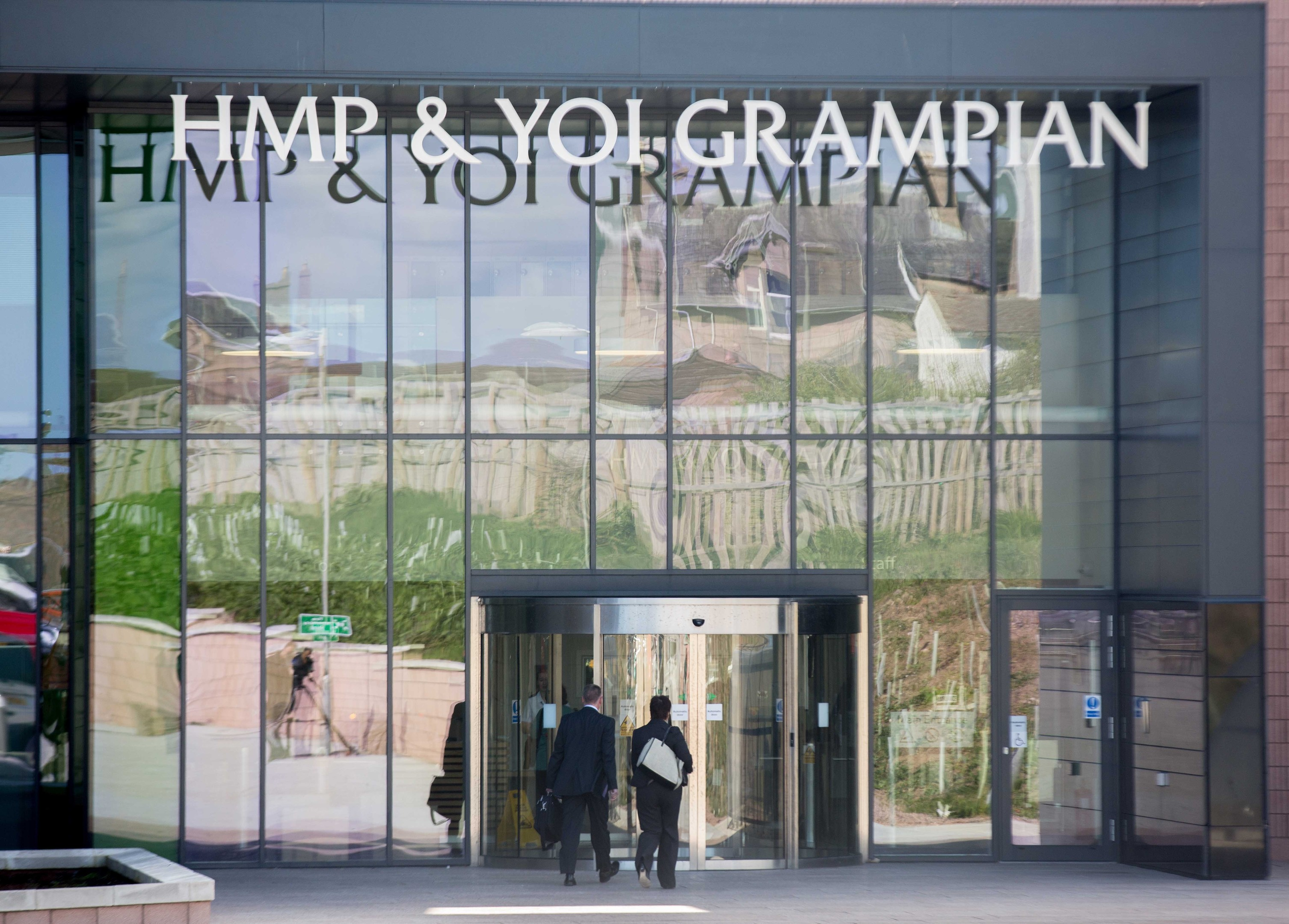 Substantial amounts of the drug were taken by police at HMP Grampian.