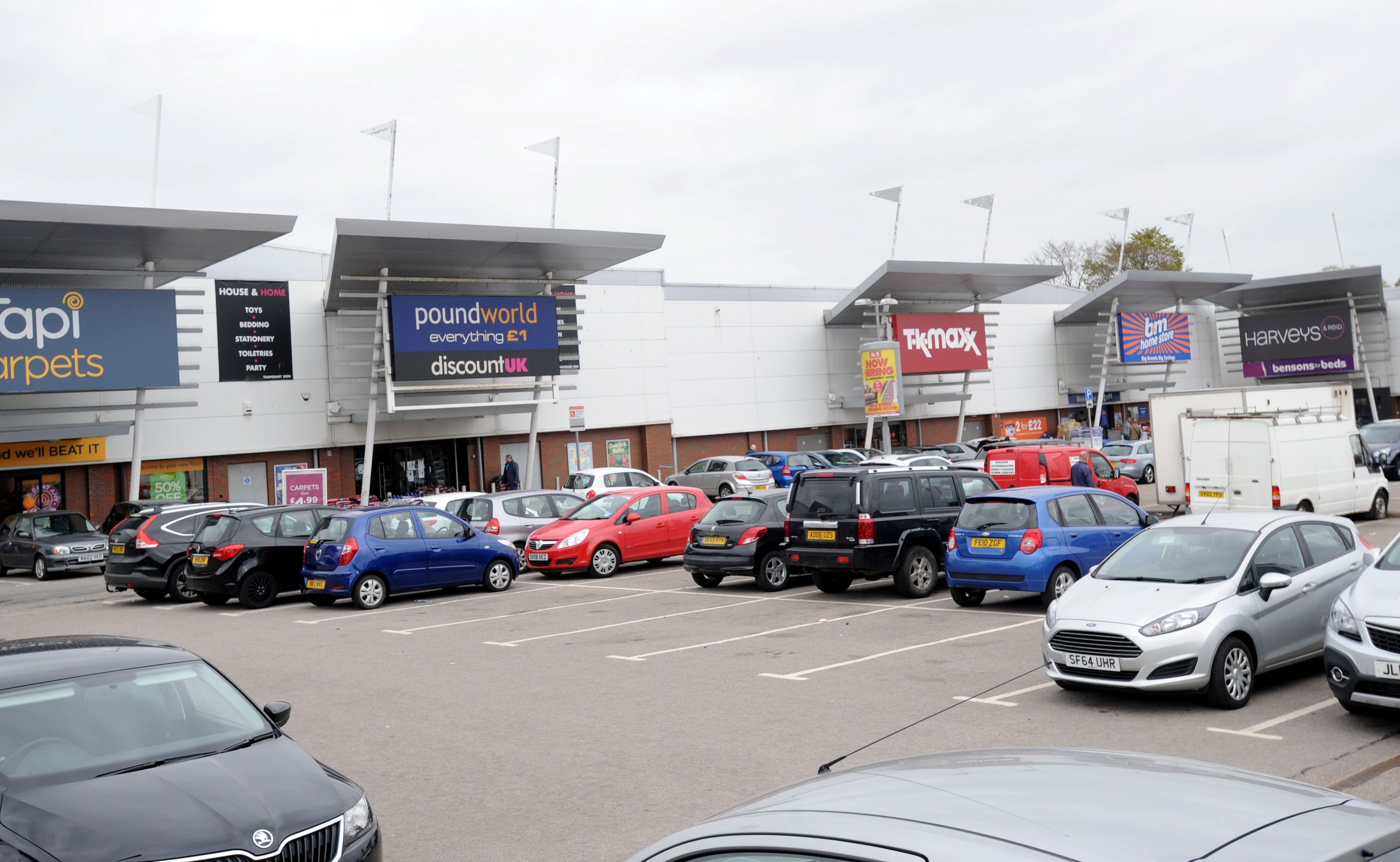 going: Poundworld at  Aberdeen's Kittybrewster Retail Park is to shut.