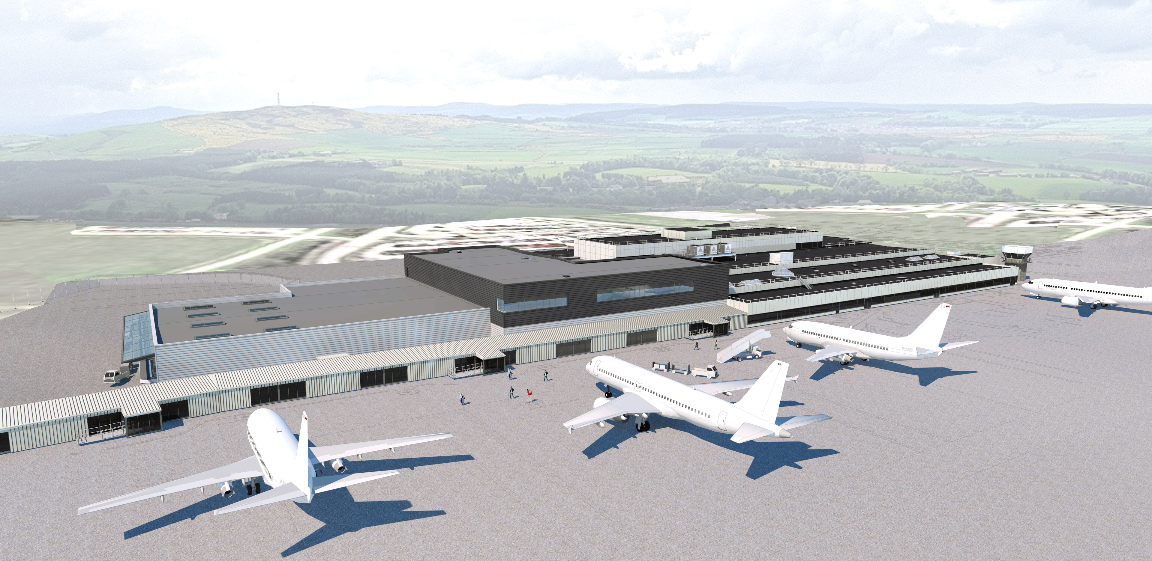 How the Dyce terminal could look when work is completed.