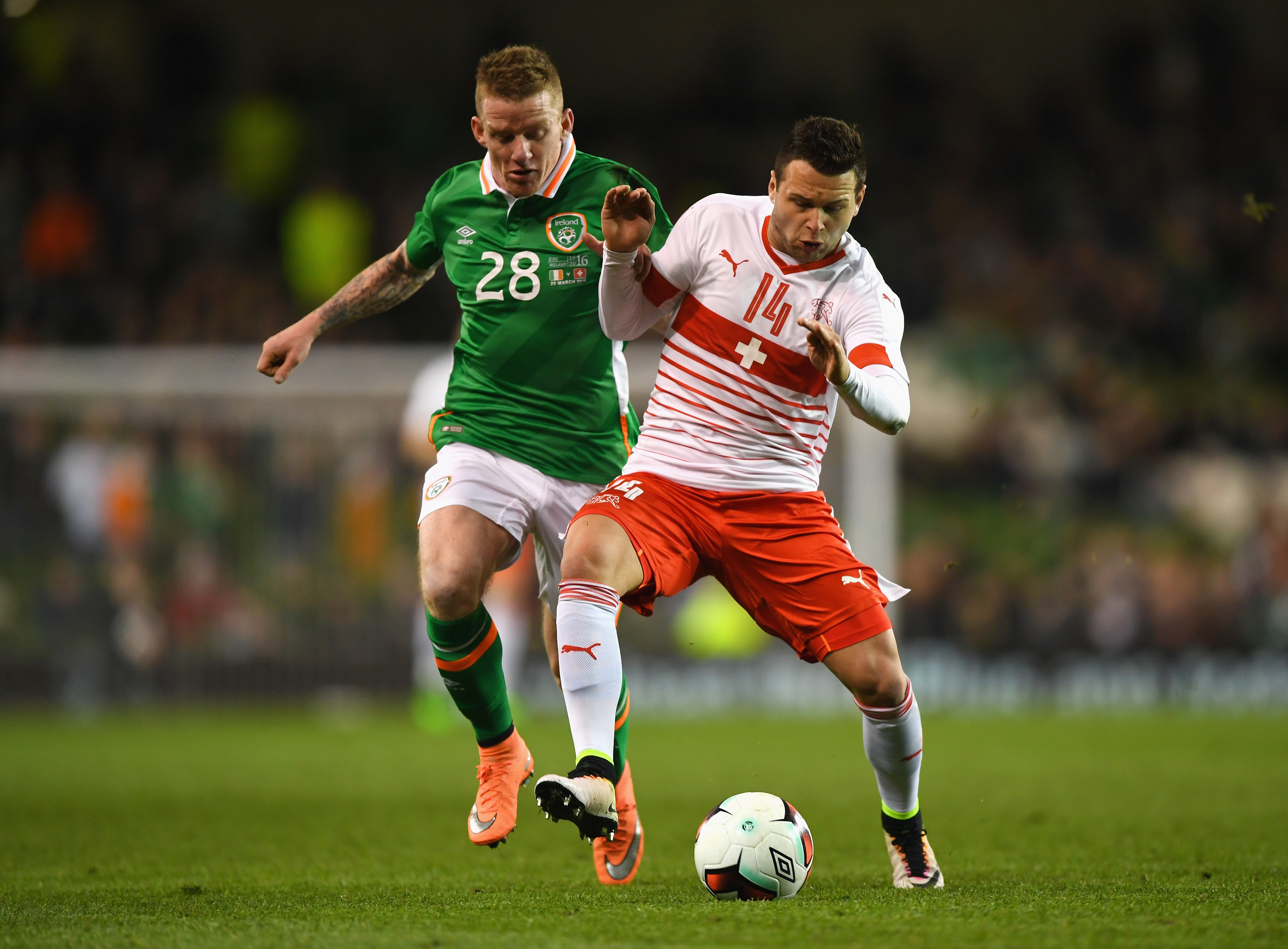 Jonny Hayes (left) has been called up for the Republic of Ireland, along with goalkeeper Danny Rogers.
