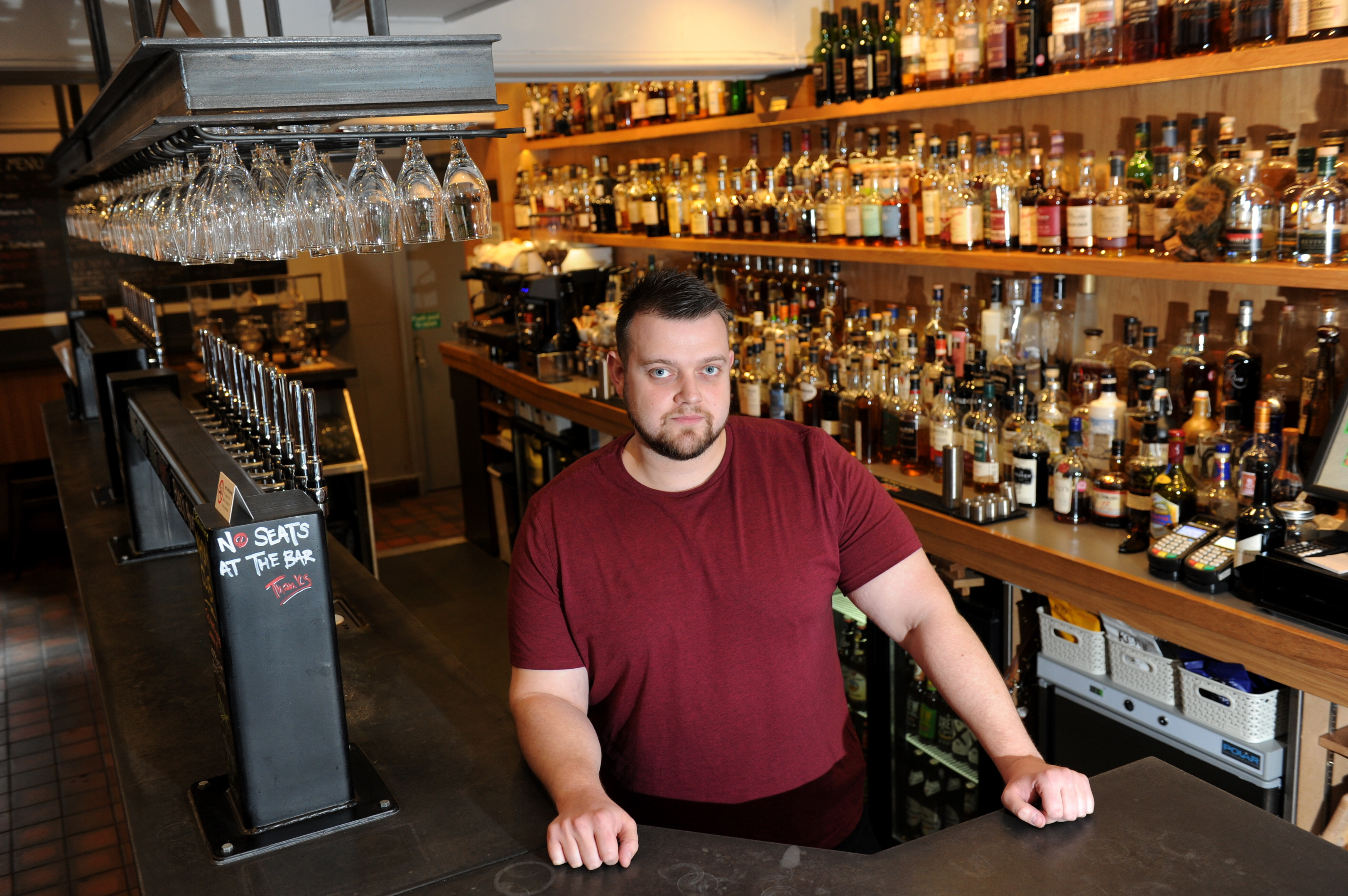 Owner Paul West said the premises would stock a huge range.