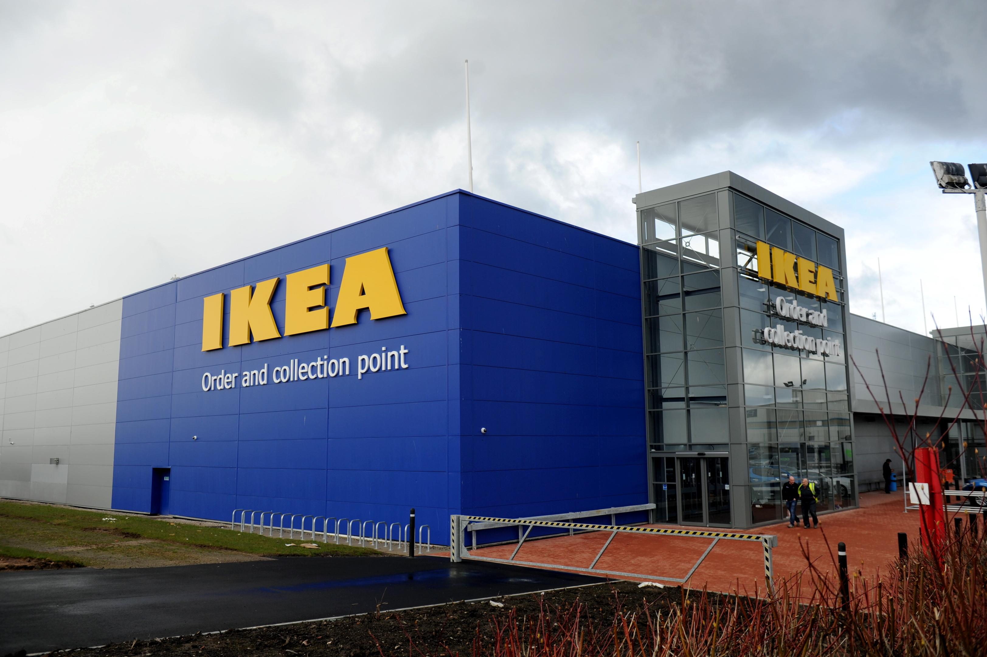 Plans for two retail units on the landscaping area next to Ikea have been refused following a review