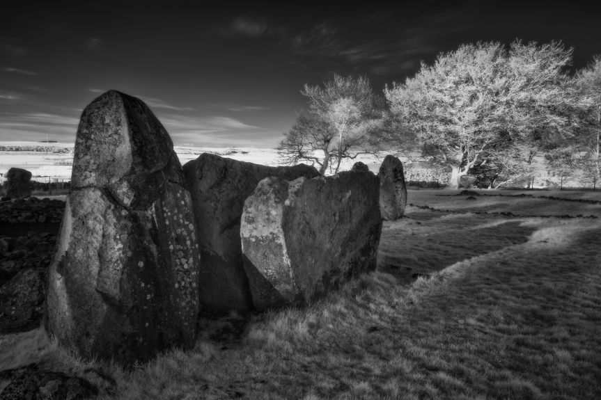 Loanhead of Daviot Stone Circle. Picture by Jason Friend
