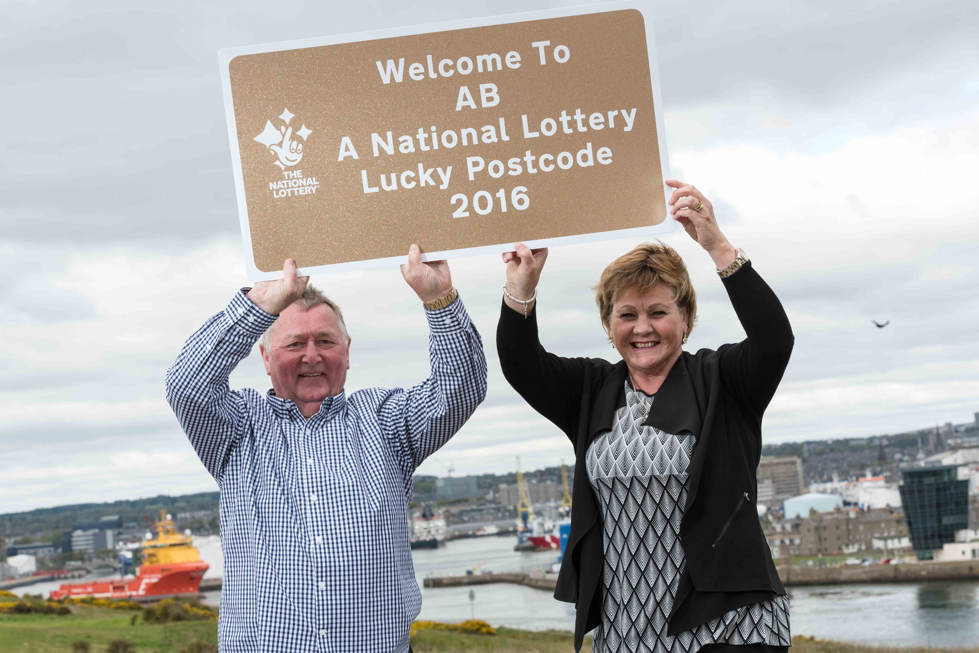 Duncan and Sheila won more than £4.5 million in February 2012.