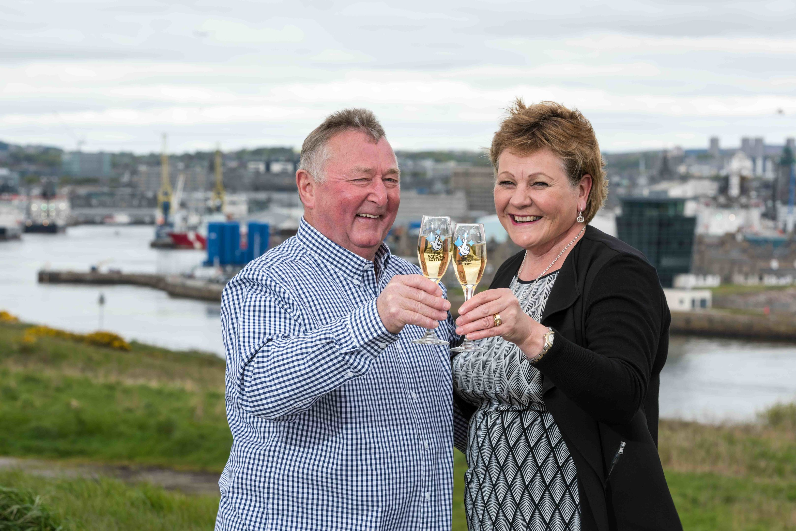 Alford couple Duncan and Sheila are part of the special millionaires club.