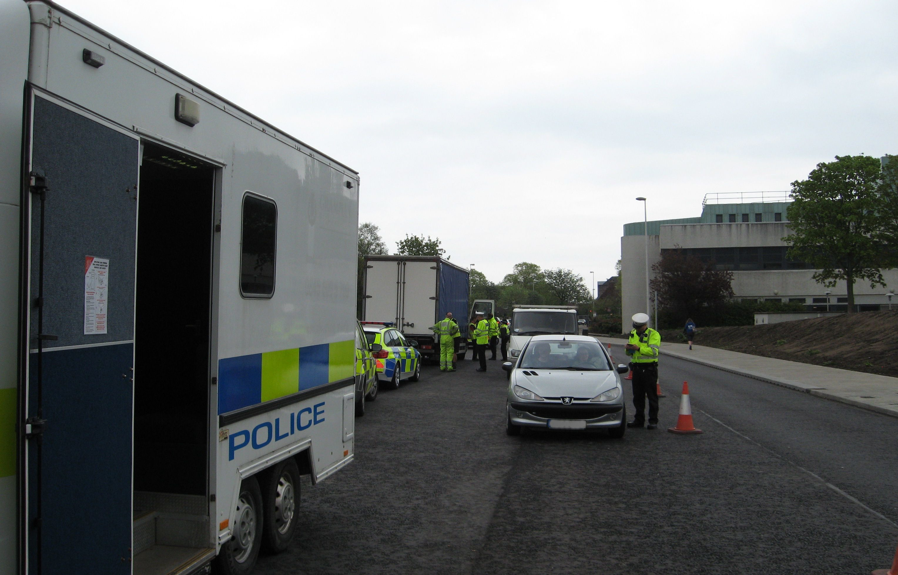 The operation took place in Aberdeen earlier this month.