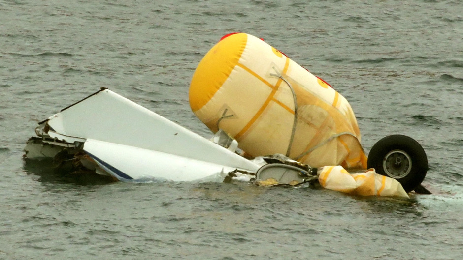 The helicopter plunged into the sea off Shetland in August 2013