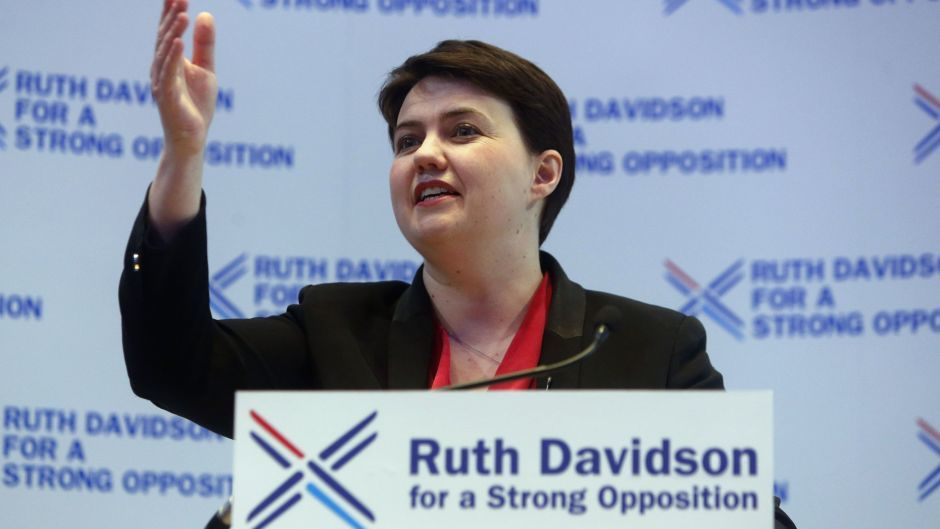 Scottish Conservative leader Ruth Davidson wants the notion of another independence vote ditched.