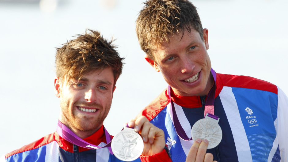 Luke Patience, left, has been selected for next year's Olympics in Tokyo