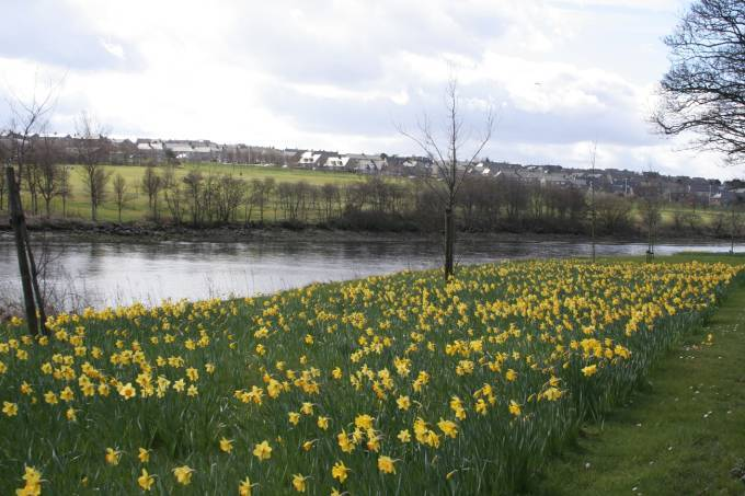 Coastguard teams were called to the River Dee near Duthie Park.