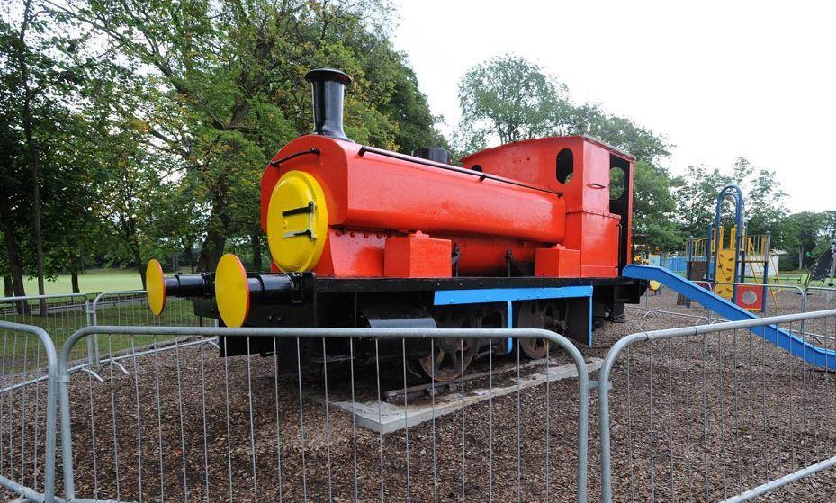 The Seaton Park train is to be taken to Kilmarnock to receive a makeover.