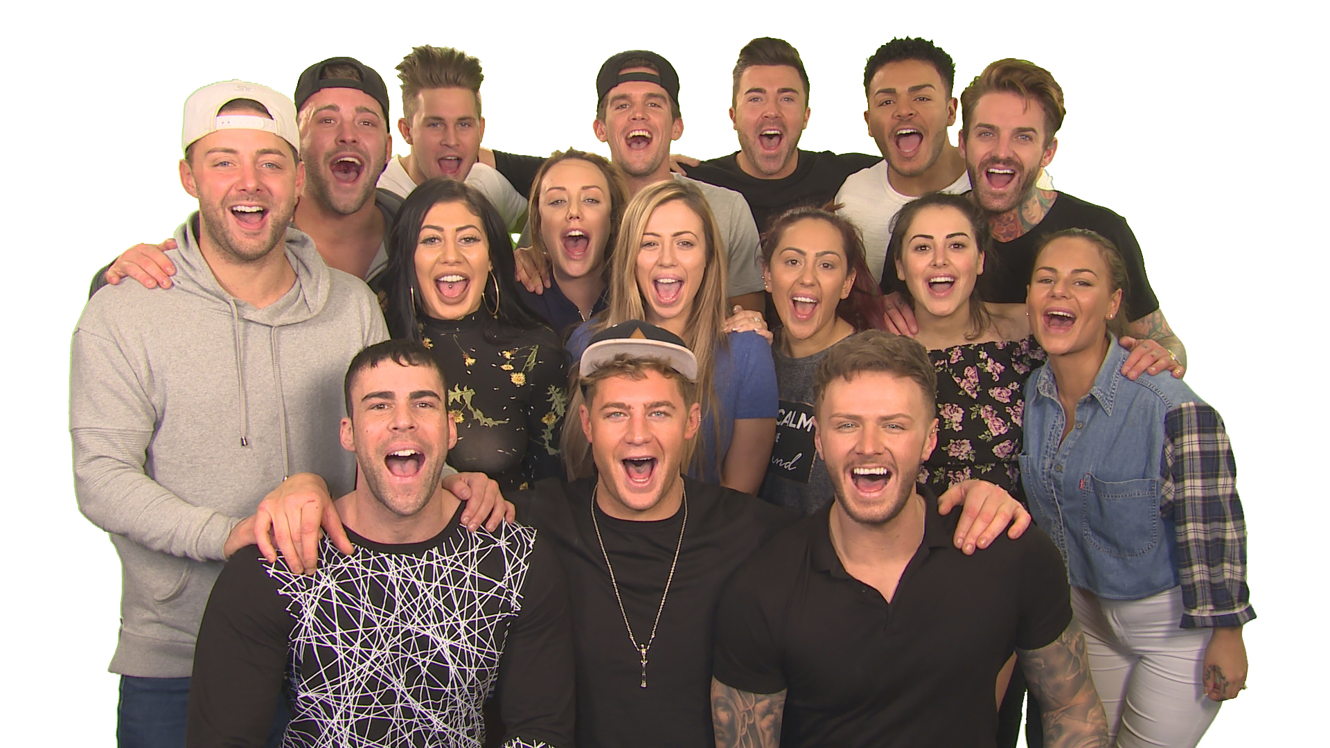 Cast members from Geordie Shore are to appear in Aberdeen. Picture courtesy of MTV.