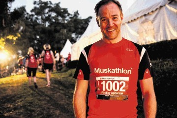 UNFORGETTABLE EXPERIENCE:   Findlay Anderson  took on  the Muskathlon in Uganda.