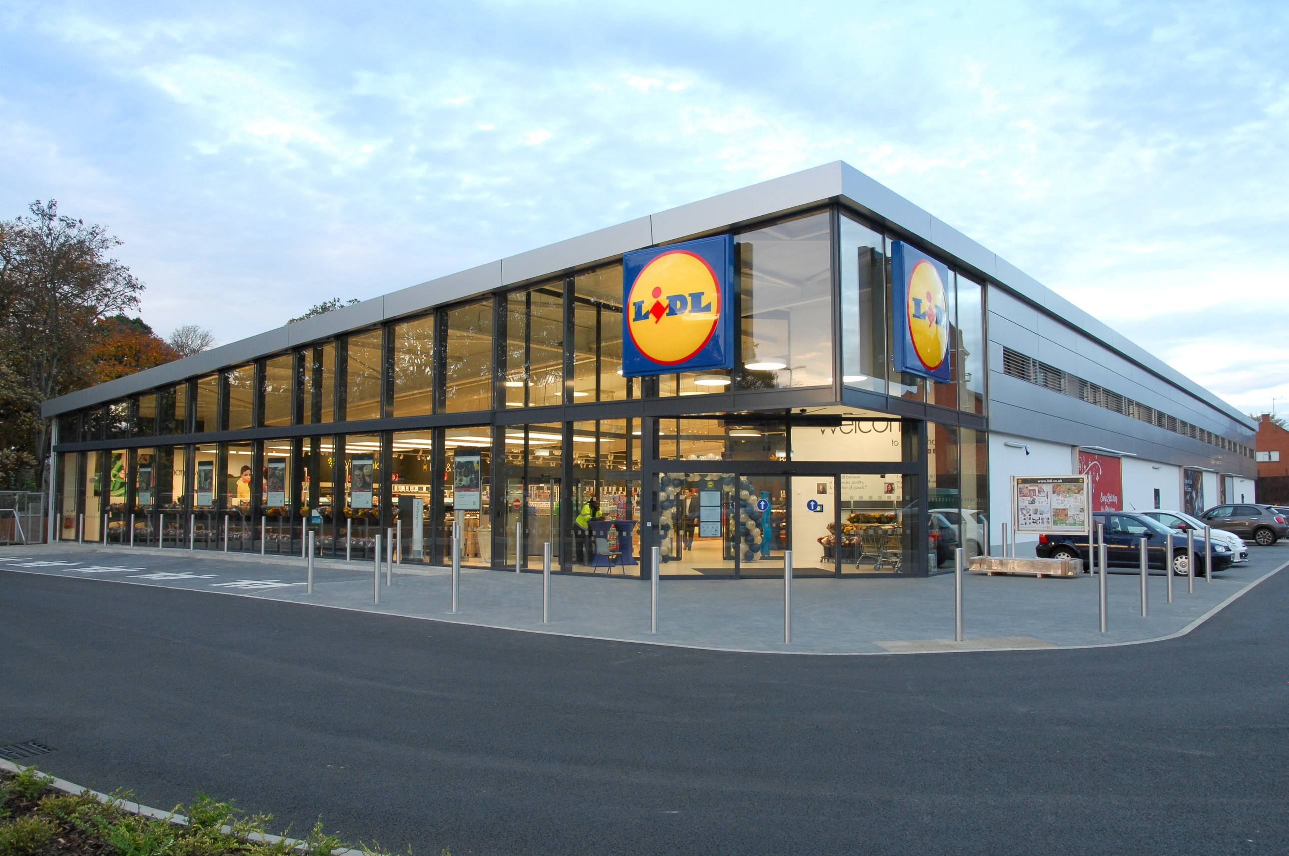 How the planned Lidl of the Future store at Bucksburn could look.