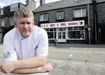 Kenny Milne of Milne & Sons Butchers in Bucksburn hit out at  council plans to introduce a parking fee at Station Road car park.