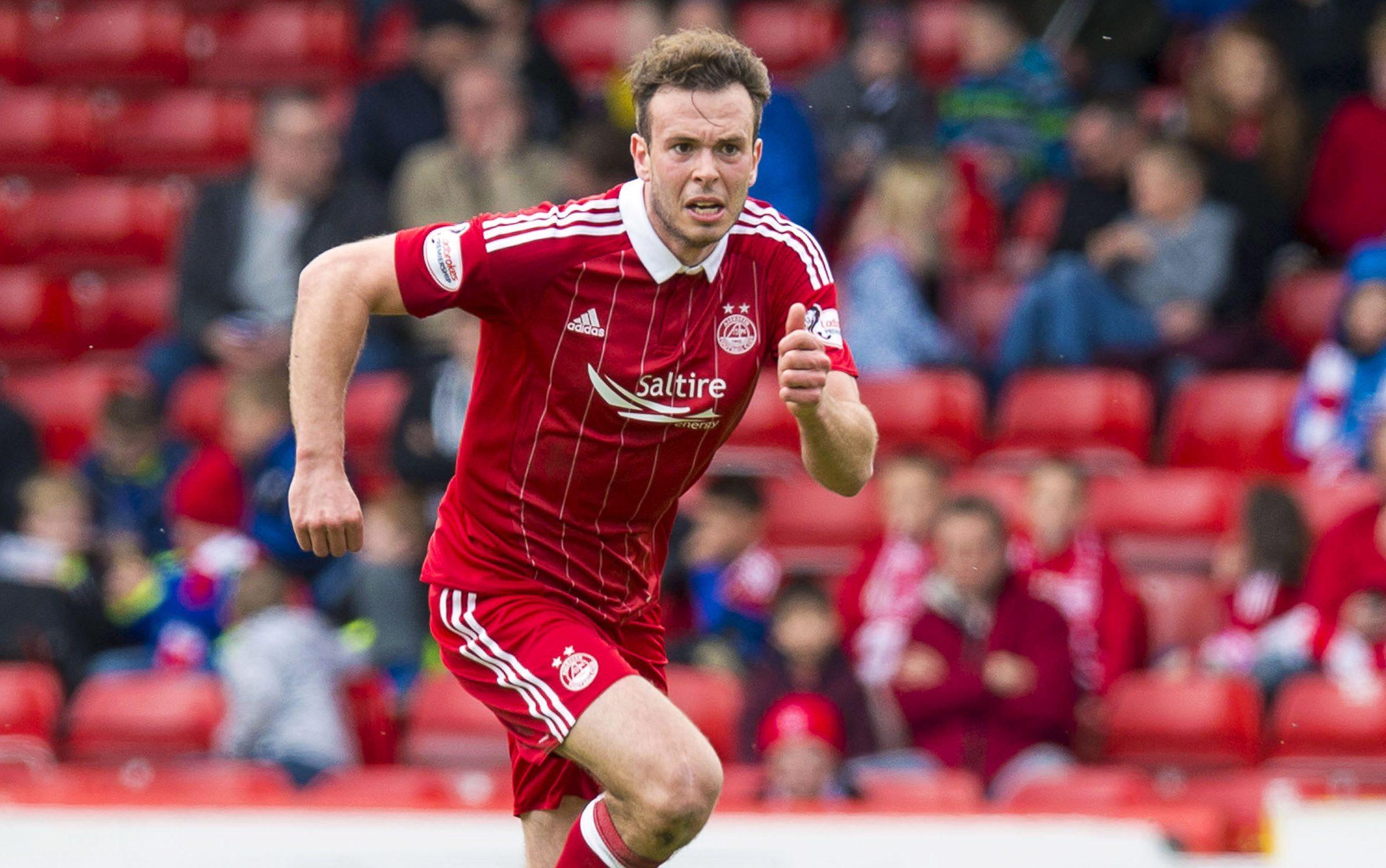 Aberdeen defender Andrew Considine.