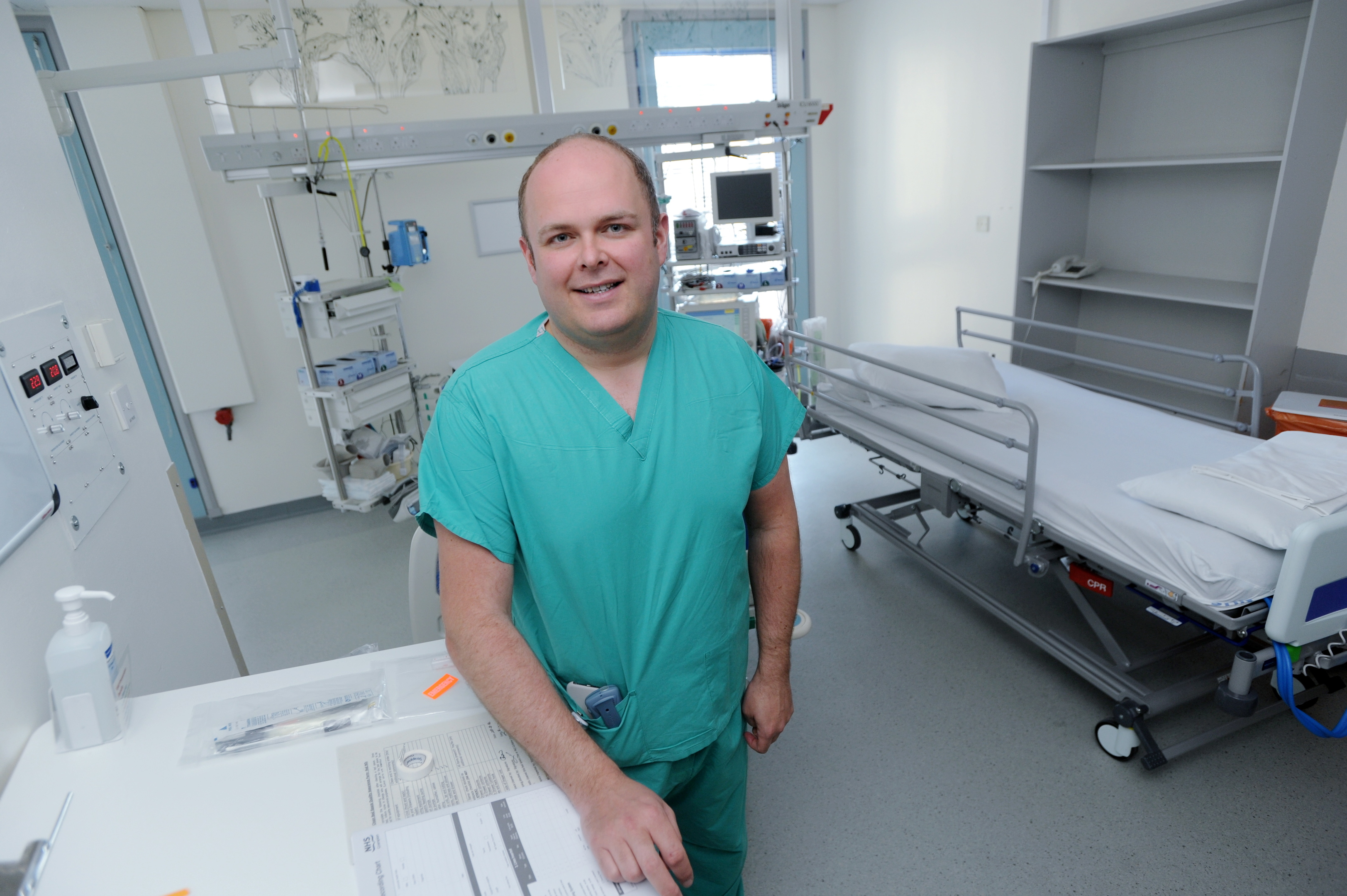 Iain MacLeod, consultant surgeon at ARI, hopes more people will sign up to donate organs and save lives.