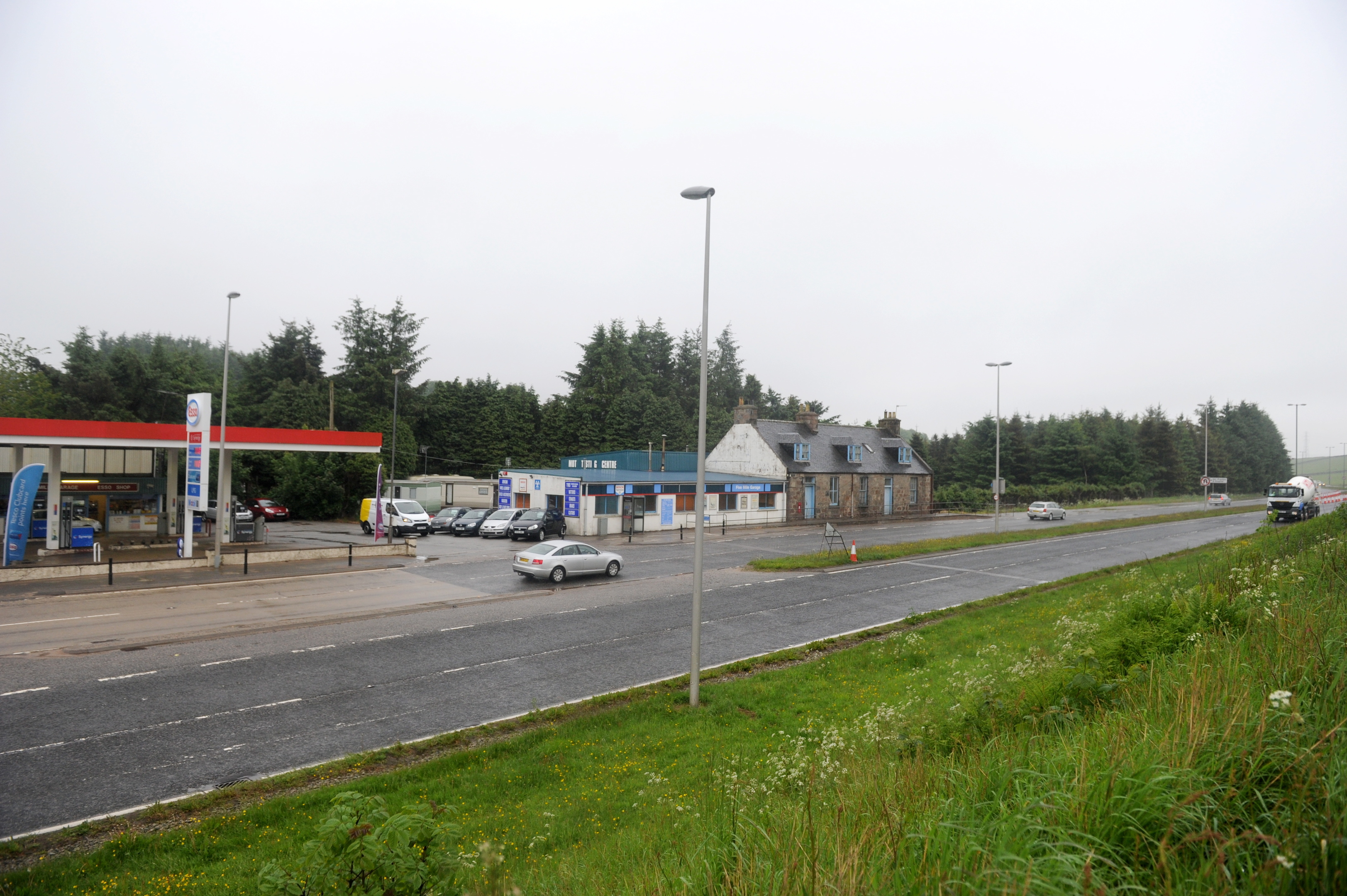 Change:  Phase four of plans will impact the area around the A944.