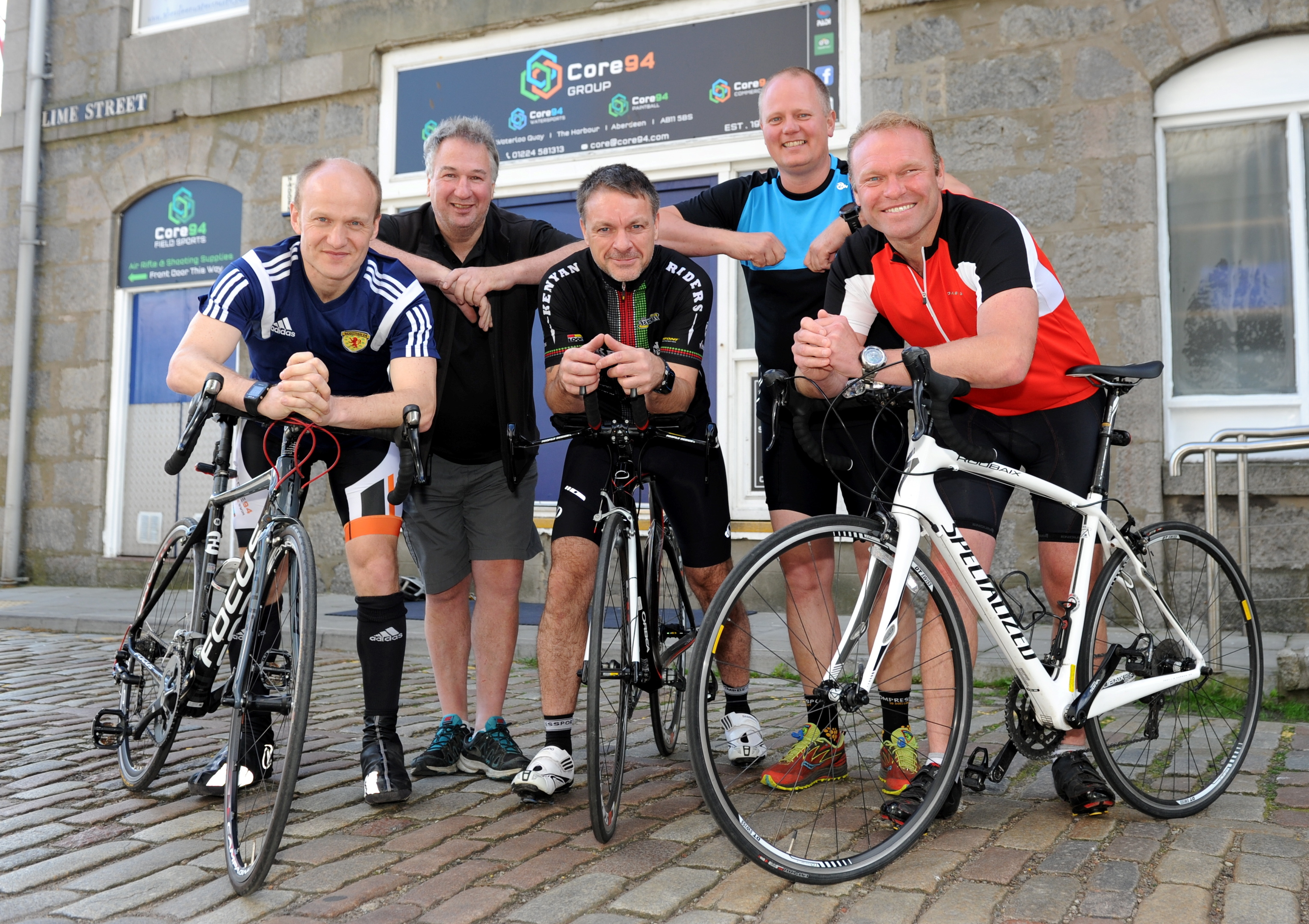 The group launched their fundraising trip this morning