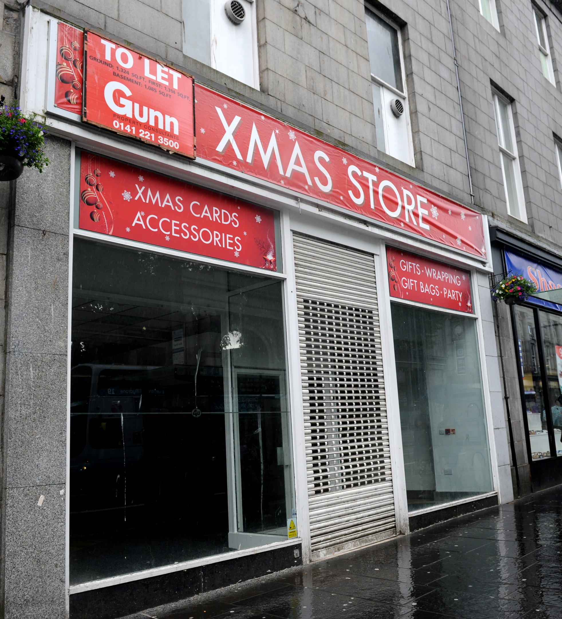 New outlet:  The unit housing the Xmas Store will be taken on by a major sportswear retailer.