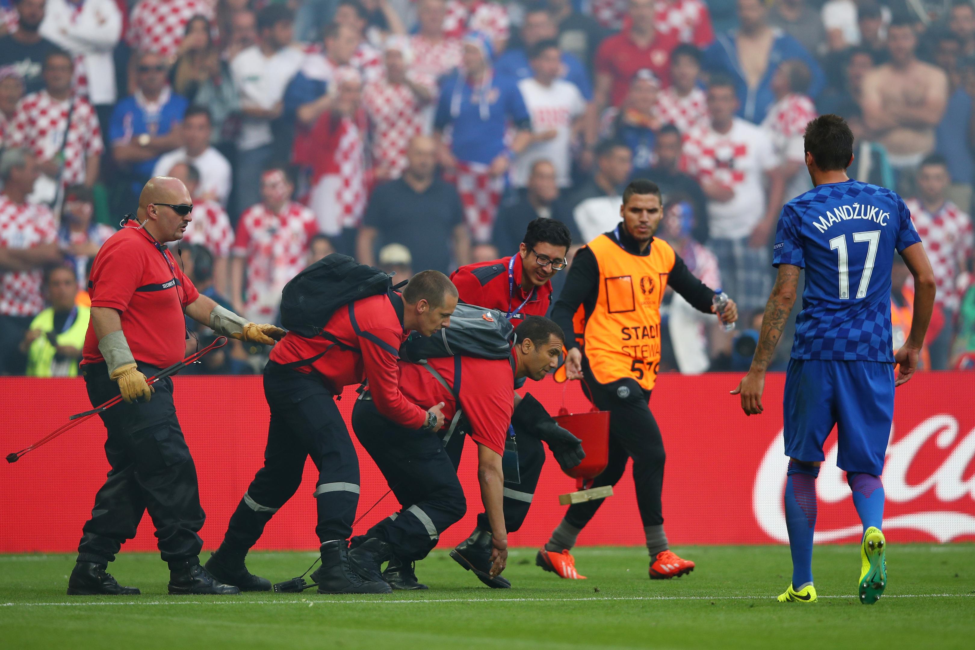 Czech Republic v Croatia - Group D: UEFA Euro 2016